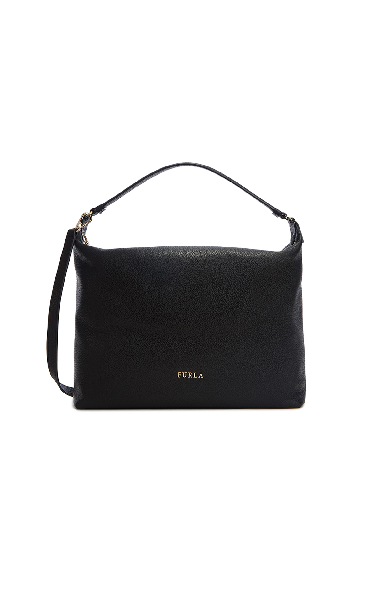 Furla Sophie Medium Hobo Black Bag at The Bicester Village Shopping Collection