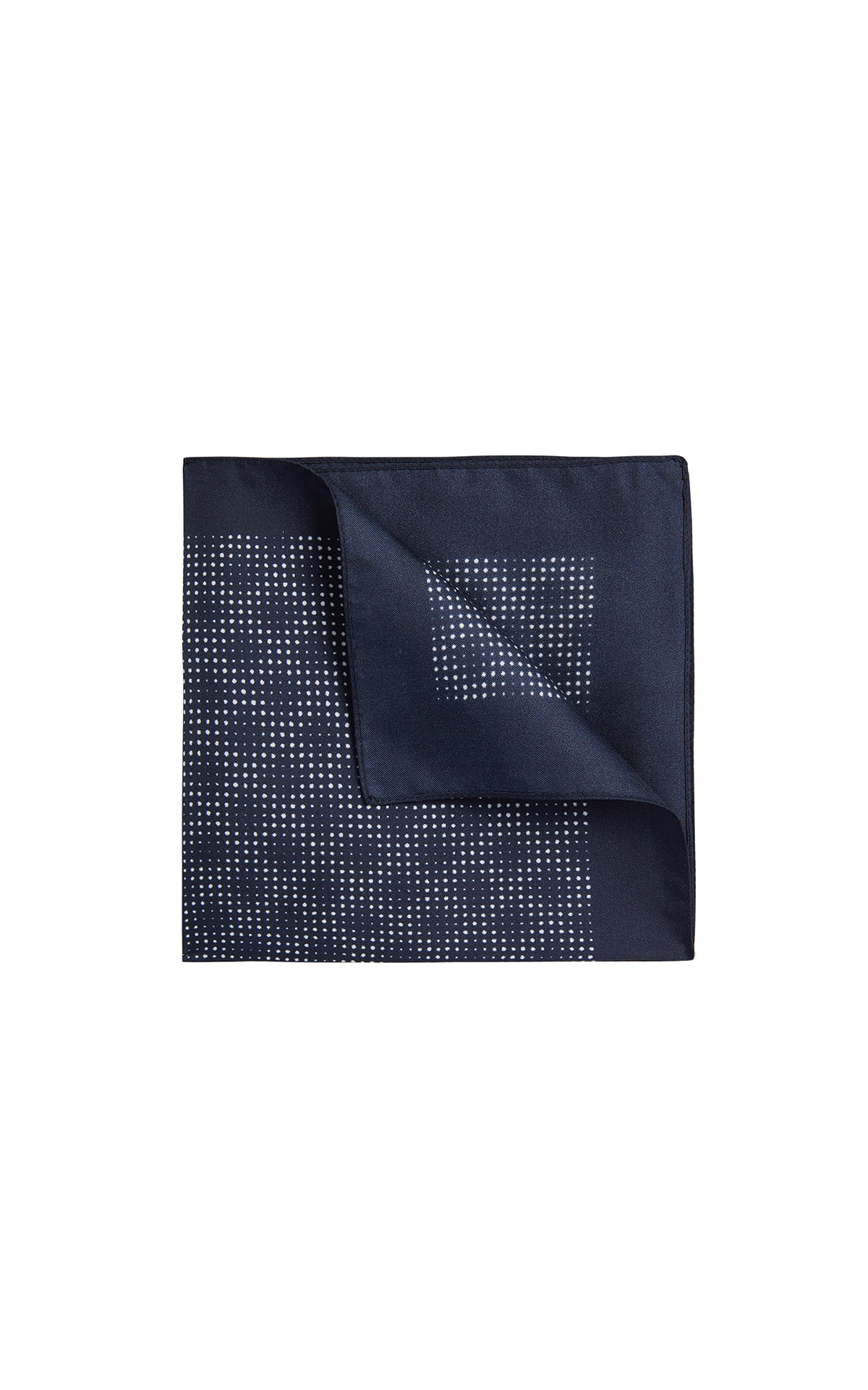 BOSS Men's Silk pocket square at The Bicester Village Shopping Collection