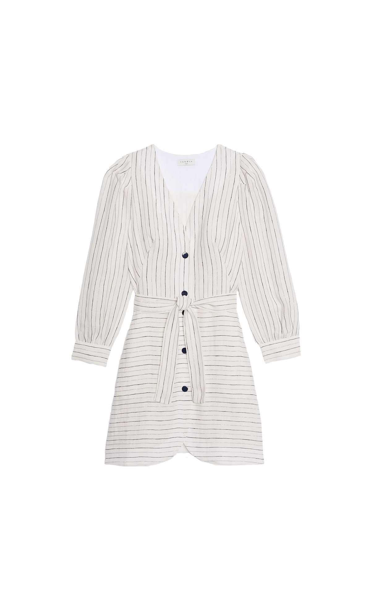 Sandro fancy striped coat dress at the bicester village shopping collection