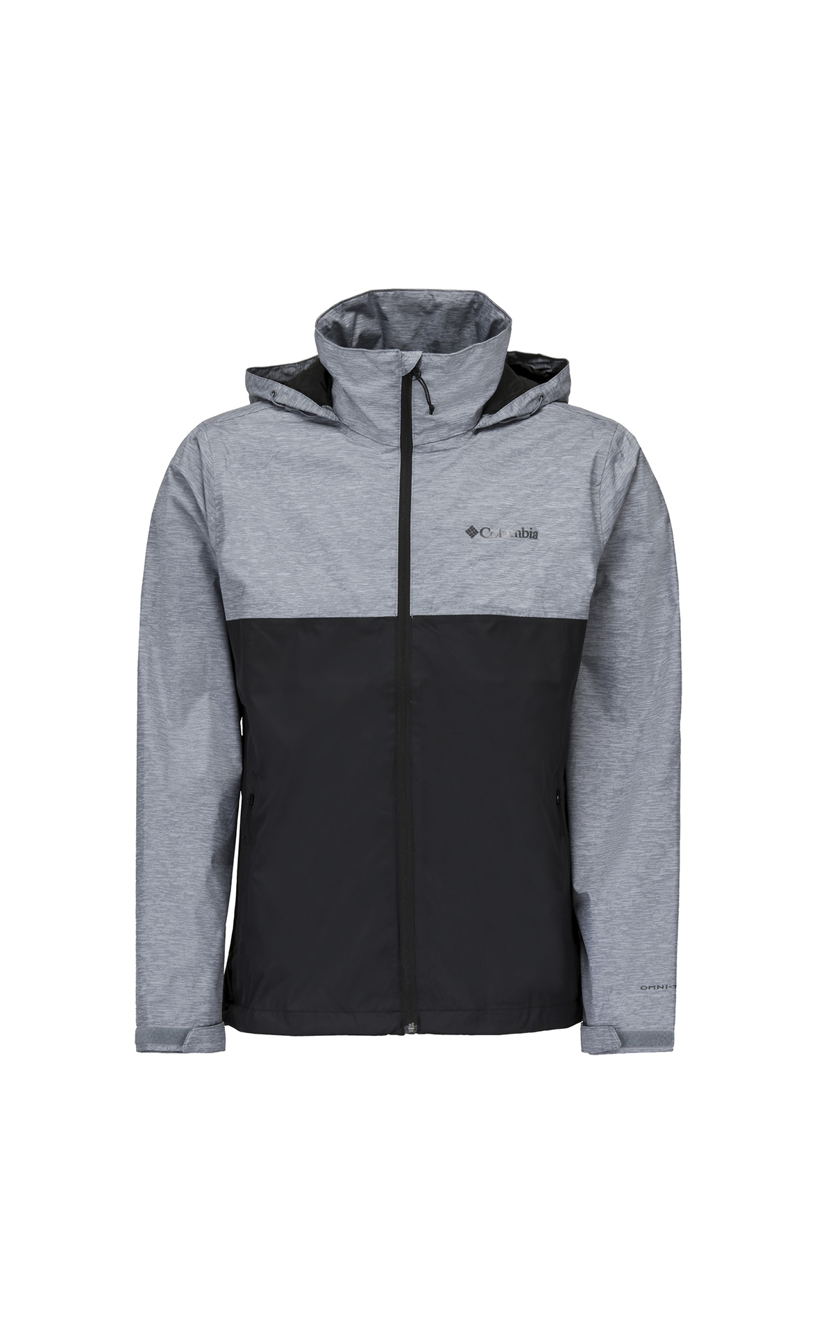 Grey and black jacket Columbia