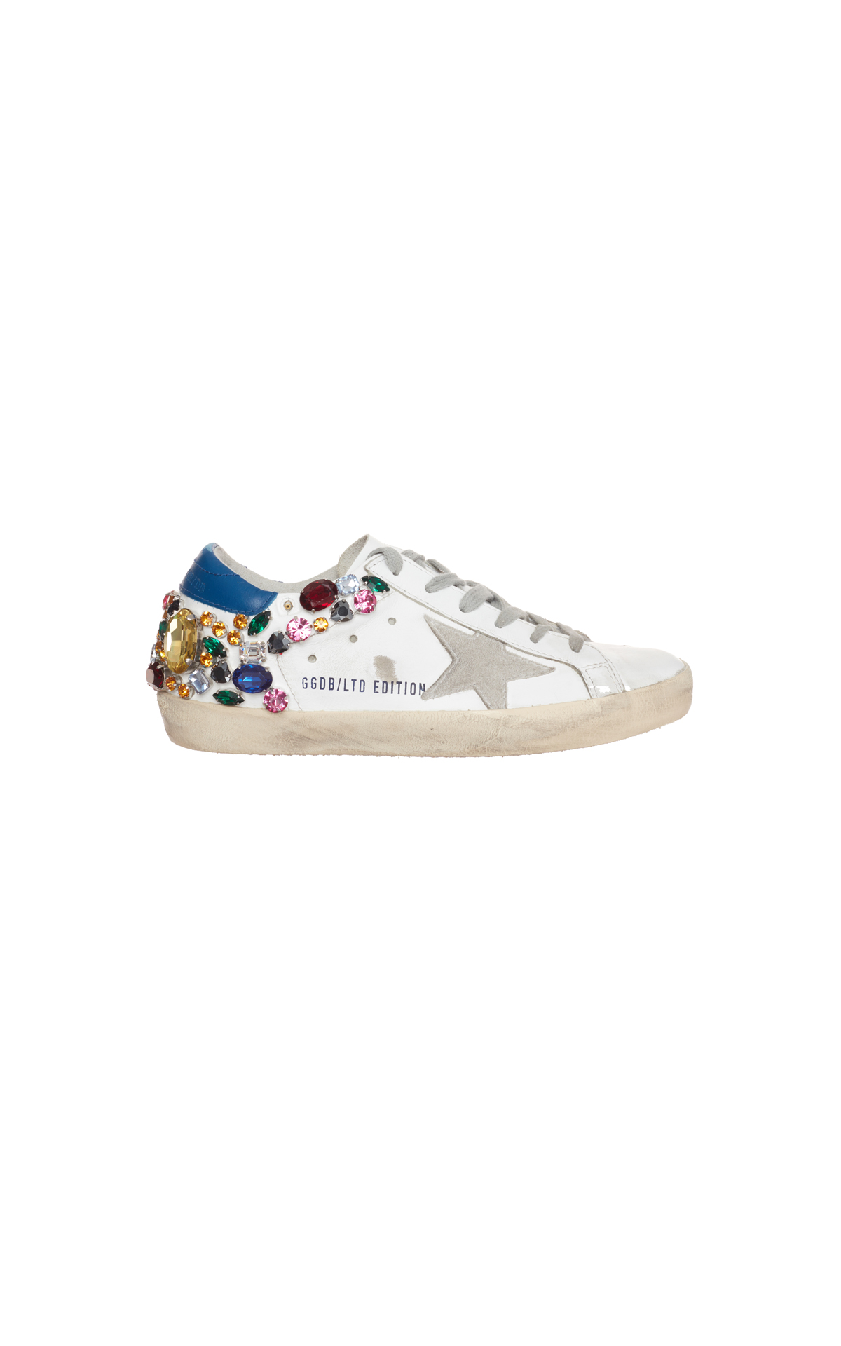 Golden Goose Swarovski trainers from Bicester Village