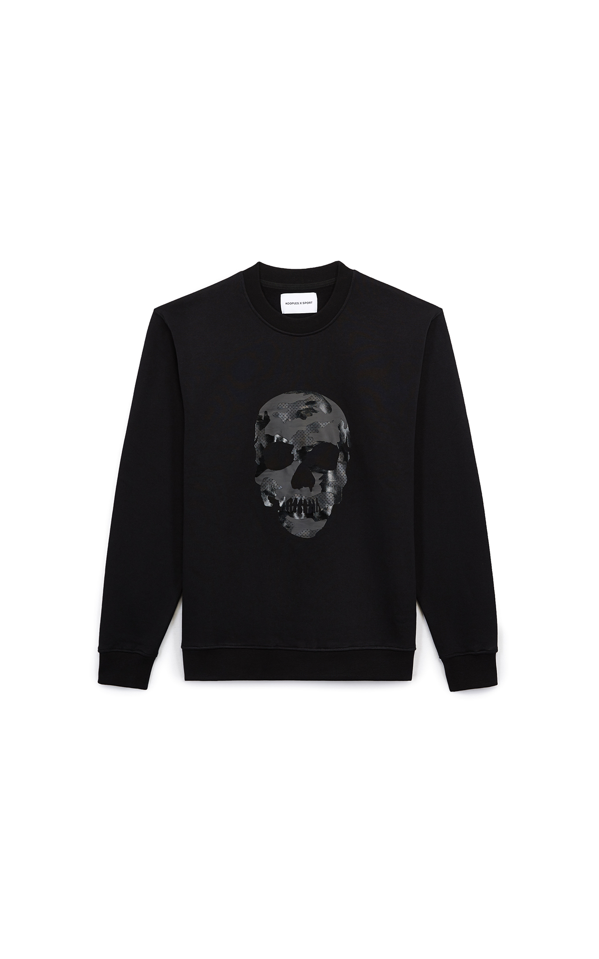 Black sweatshirt with skull The Kooples