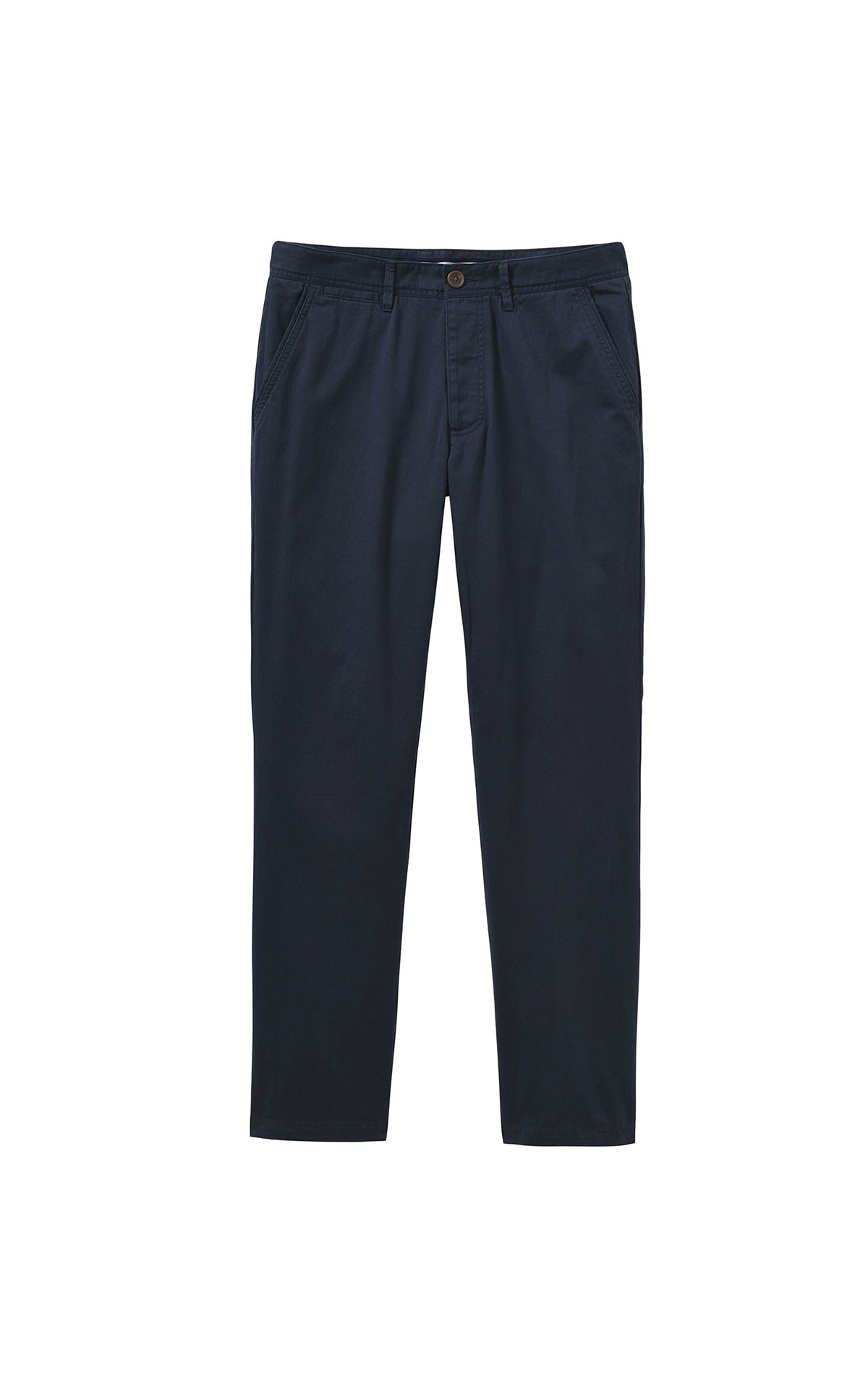 Savoy Taylors Guild Crew Clothing Company navy blue chino from Bicester Village