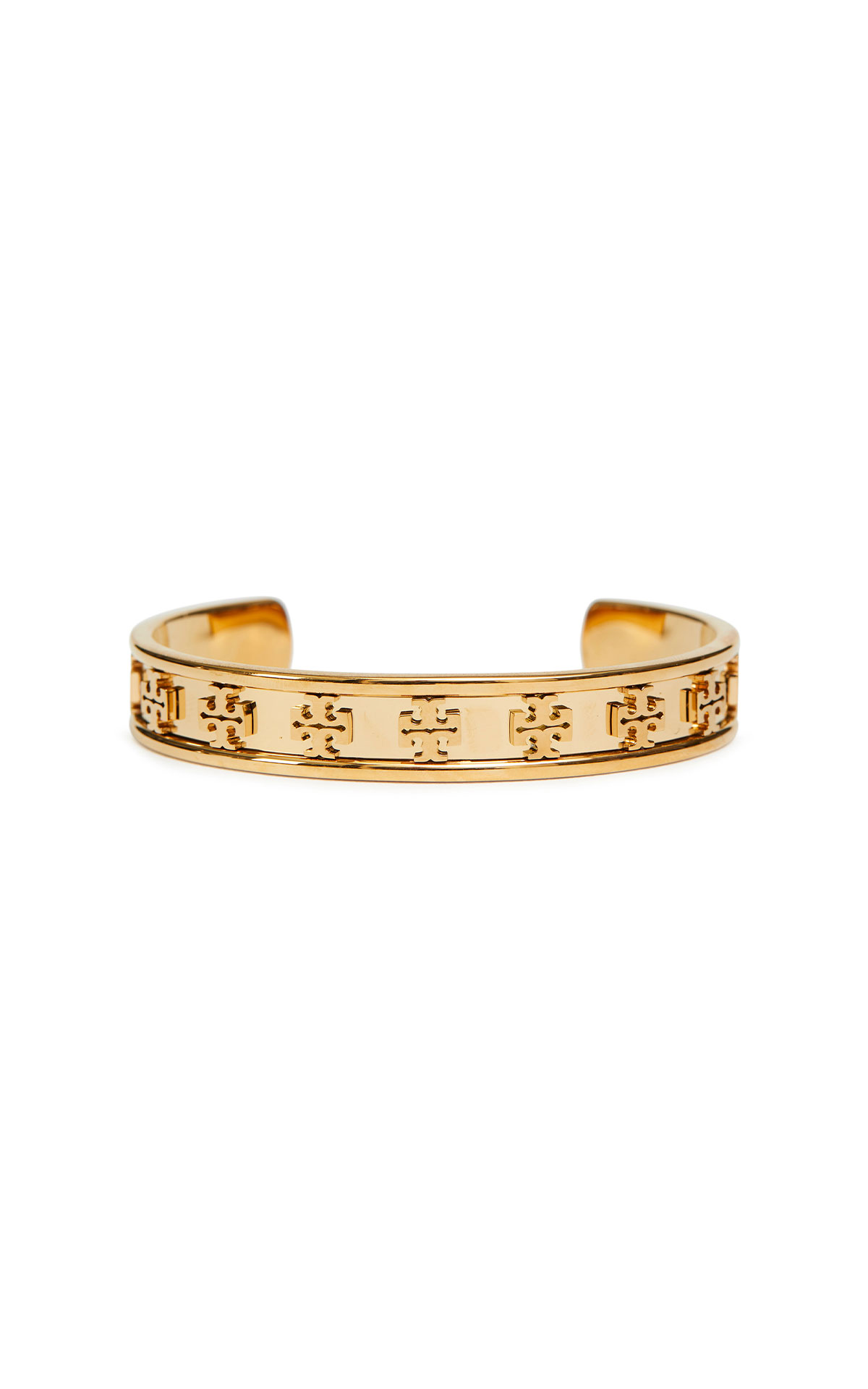 Tory Burch Raised logo cuff from Bicester Village