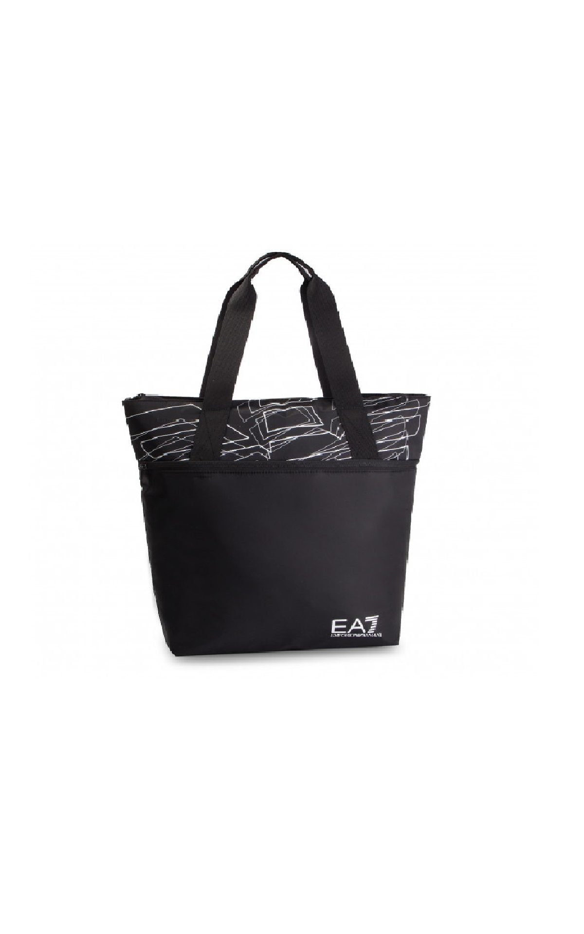 Black tote bag Armani