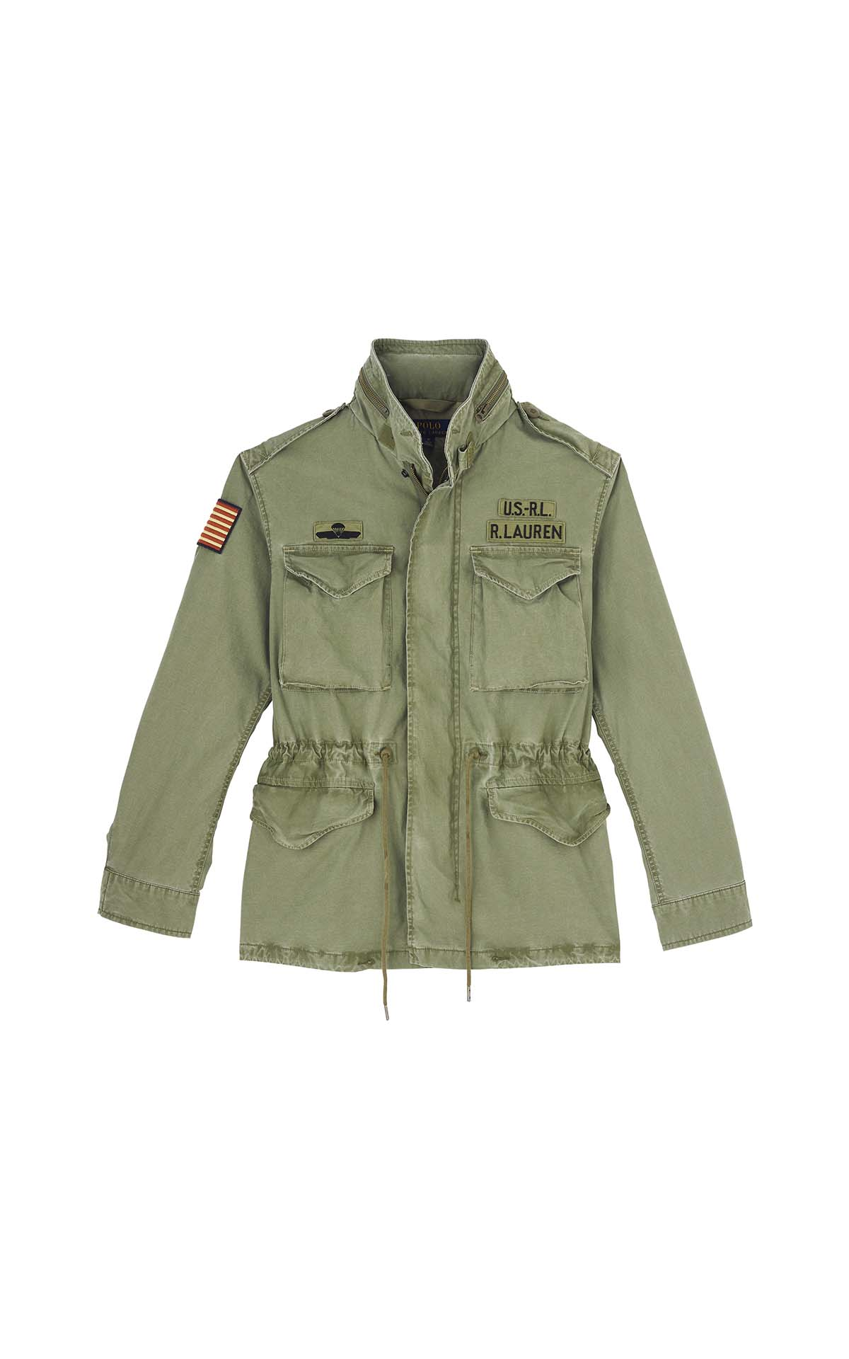 Polo Ralph Lauren M65 combat jacket at The Bicester Village Shopping Collection