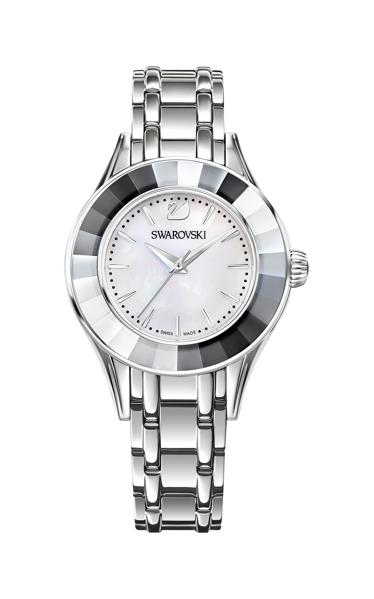 Silver watch Swarovski
