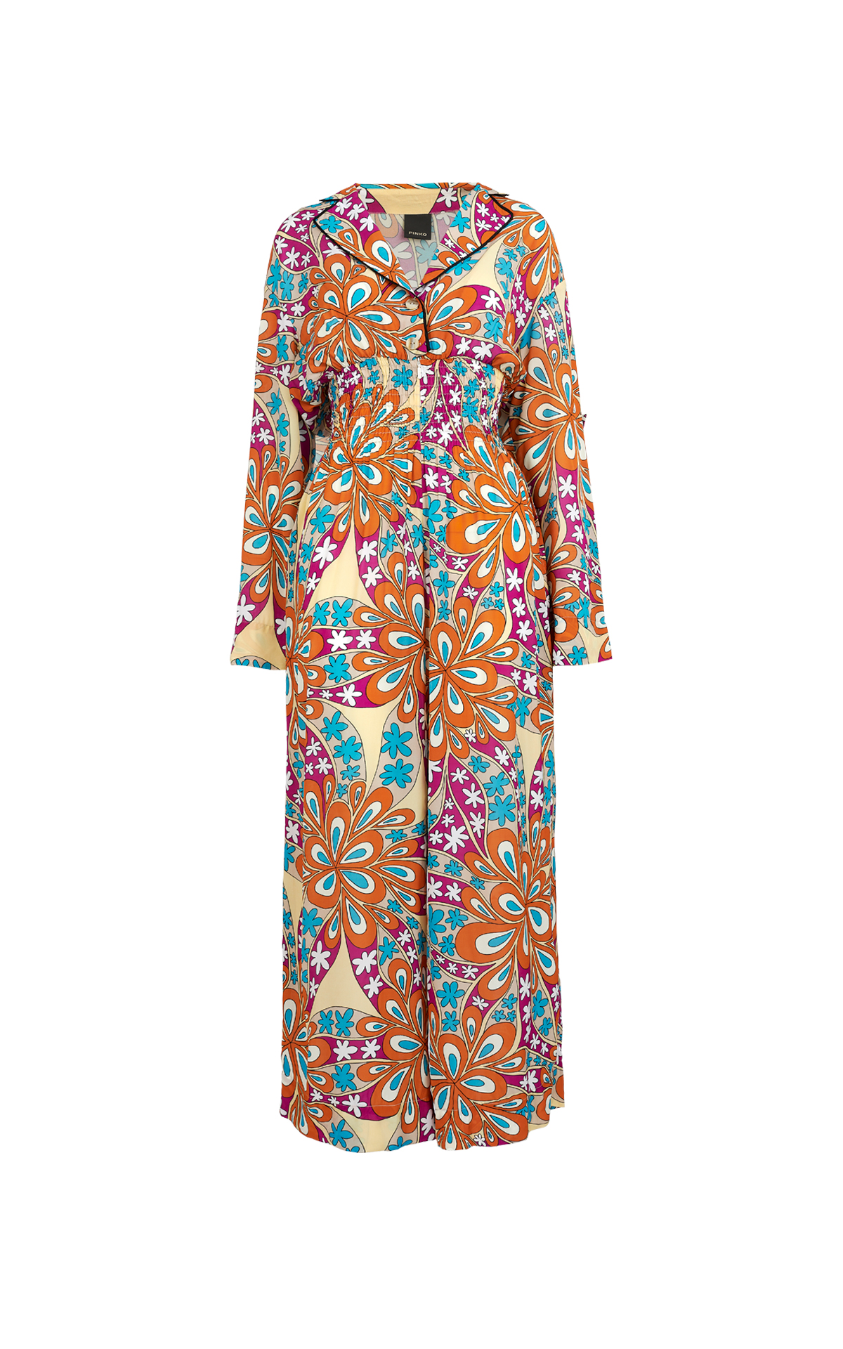 Long dress with flowers Pinko