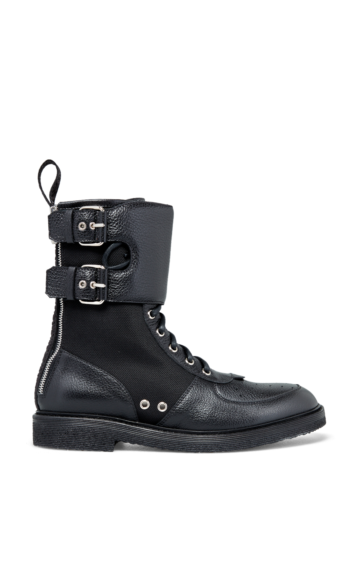 Balmain Men's black rangers' boots