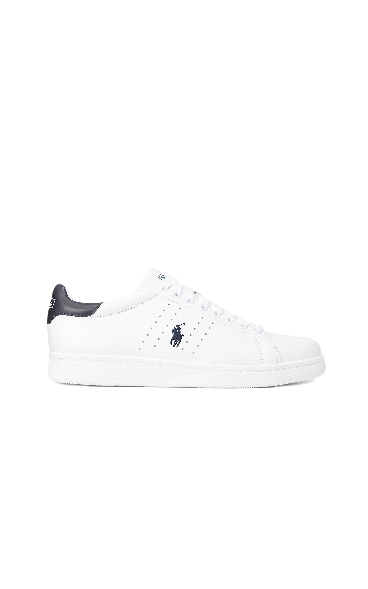 La Vallée Village Polo Ralph Lauren baskets blanches avec logo PRL