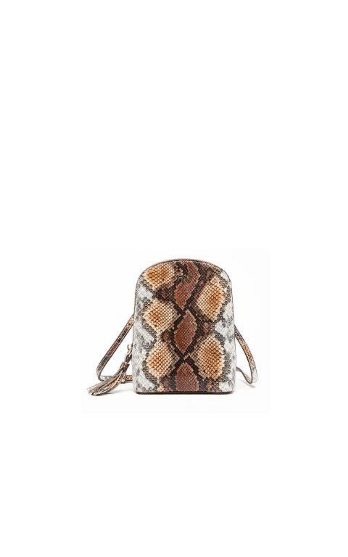 Snake print mini crossbody bag Roberto Verino