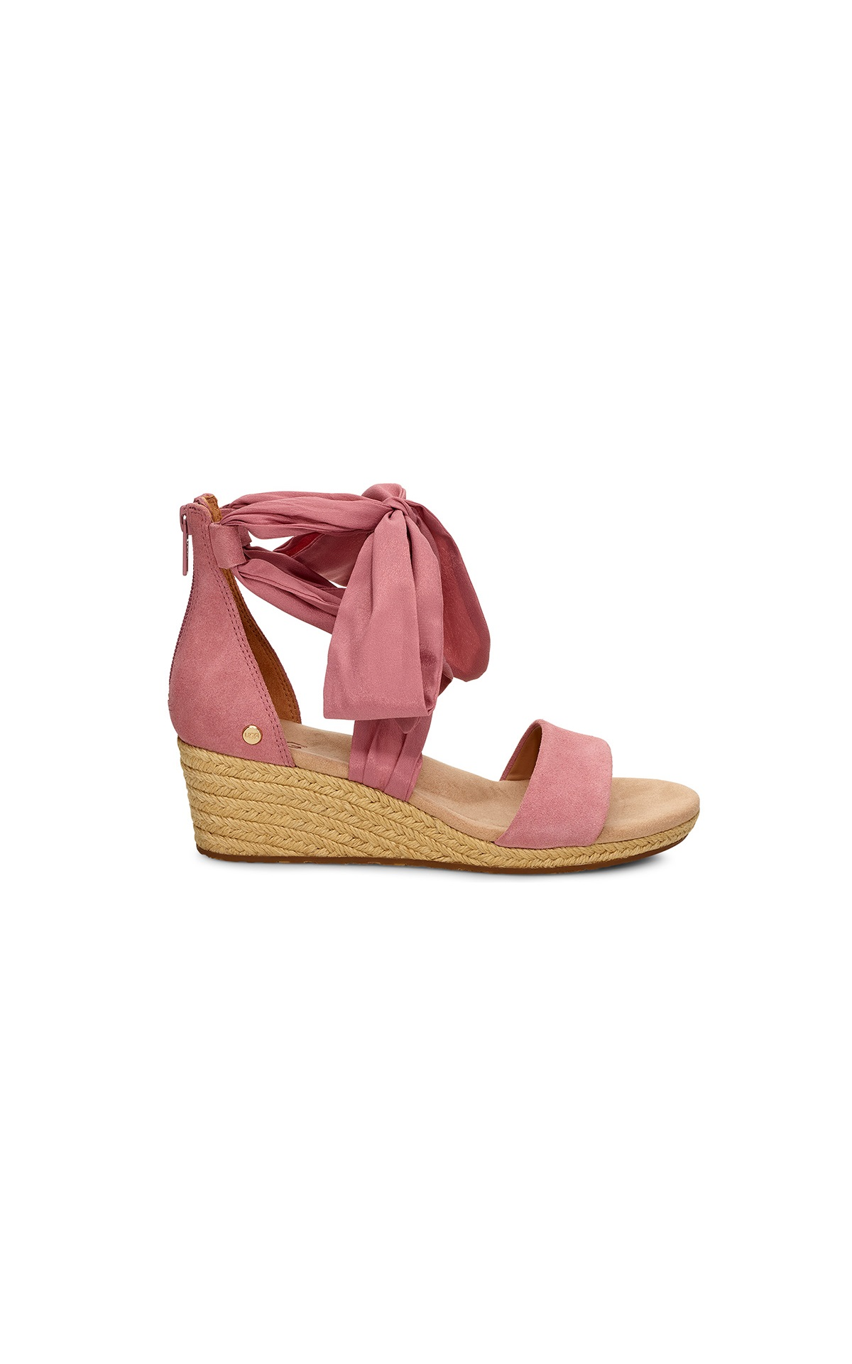 Pink espadrilles from UGG