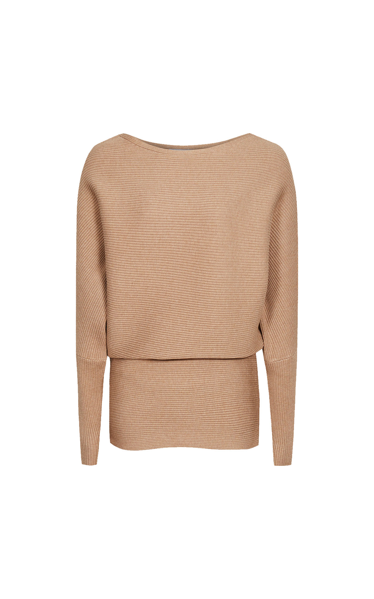 Reiss Lorena camel top from Bicester Village