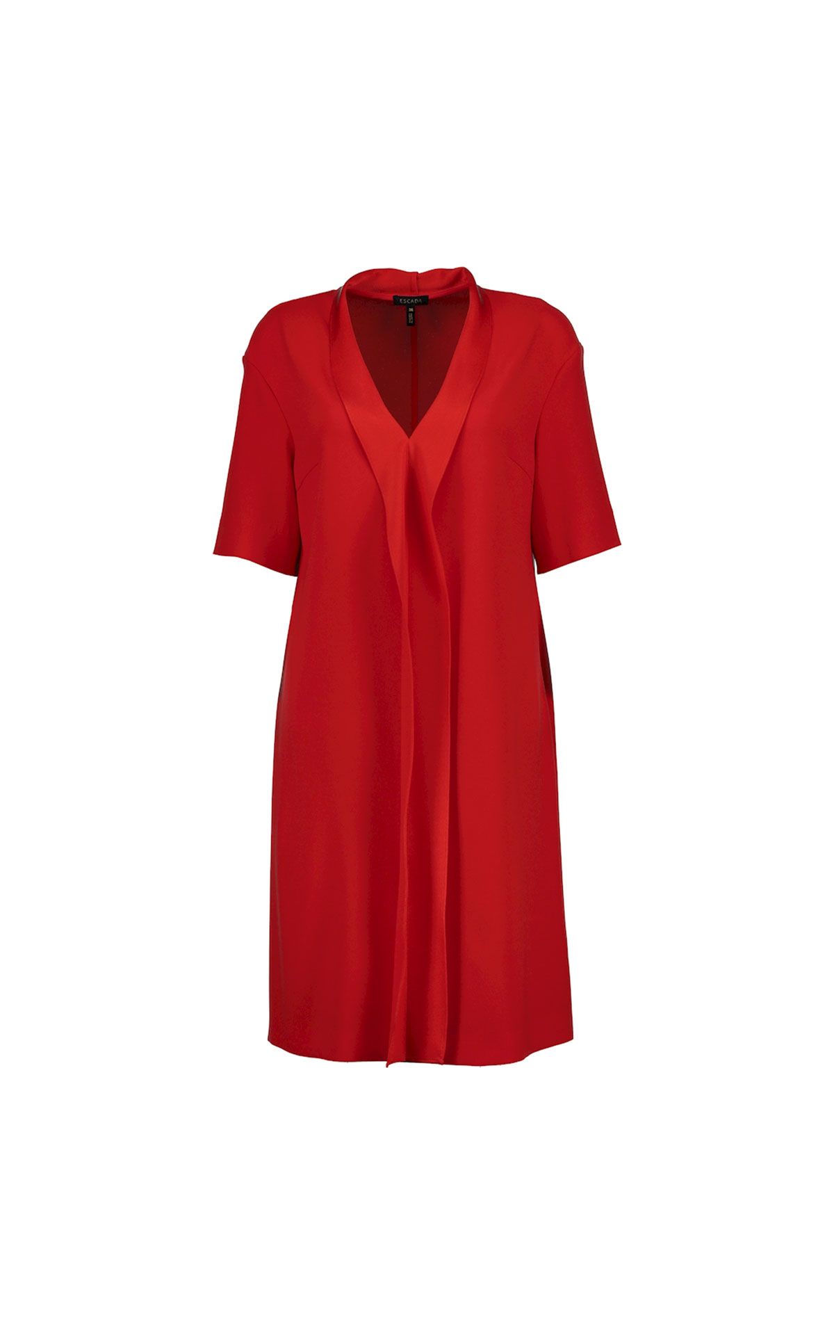 Escada Red dress from Bicester Village