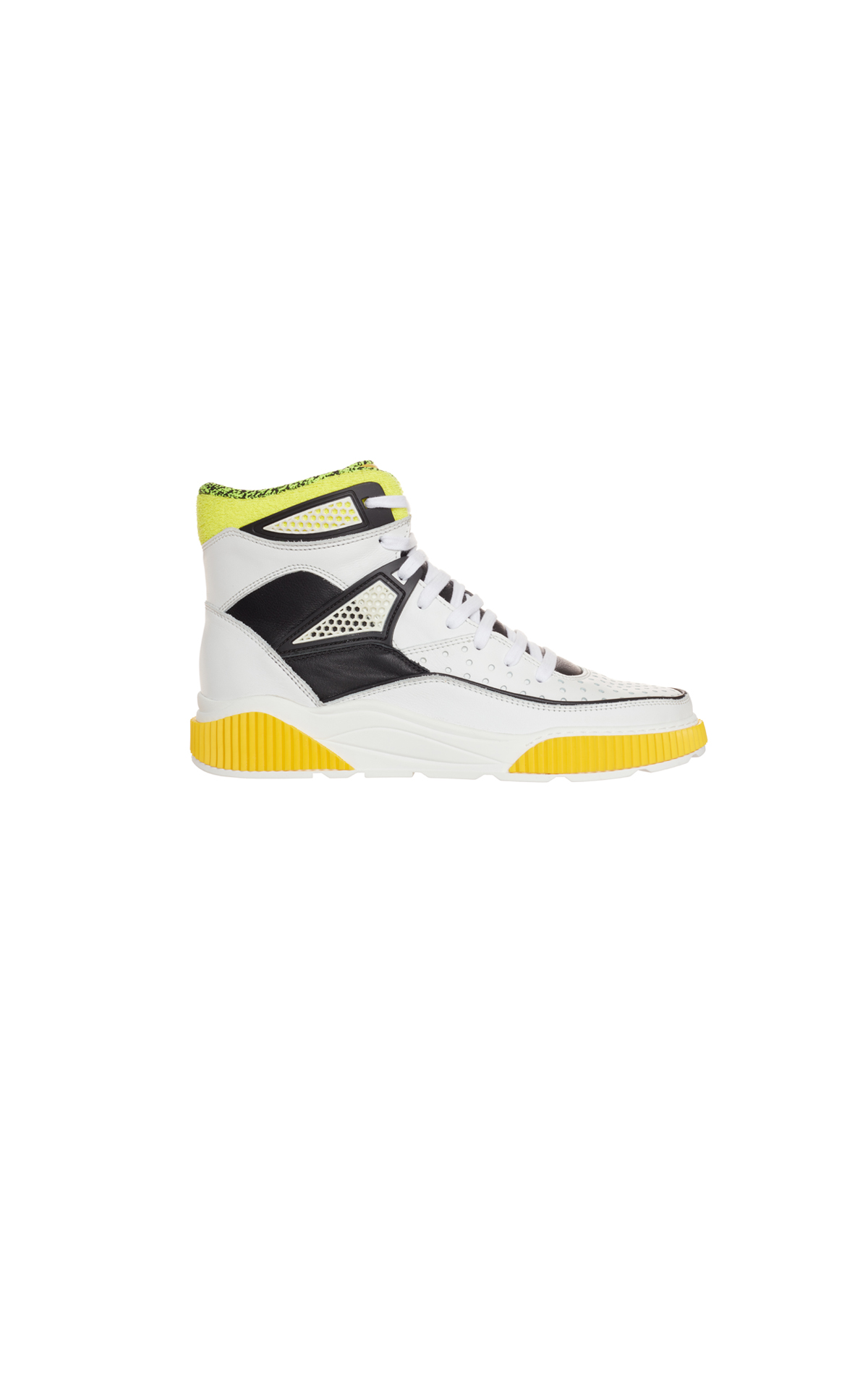 Balmain White high top from Bicester Village