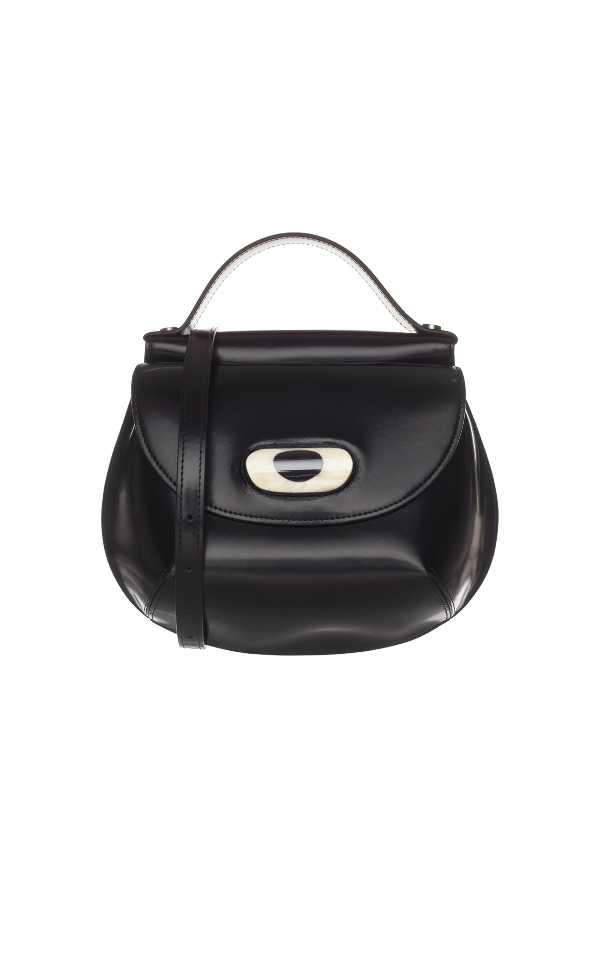 Marni Cyclops shoulder bag vitello from Bicester Village