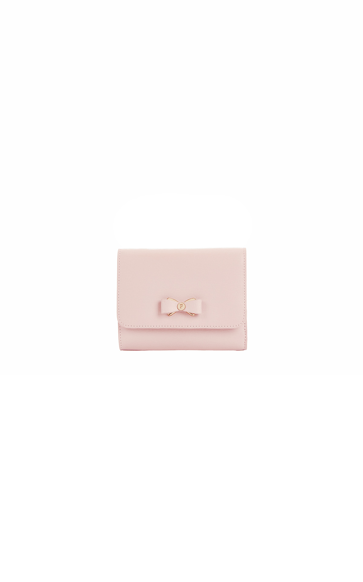 Small light pink wallet Furla
