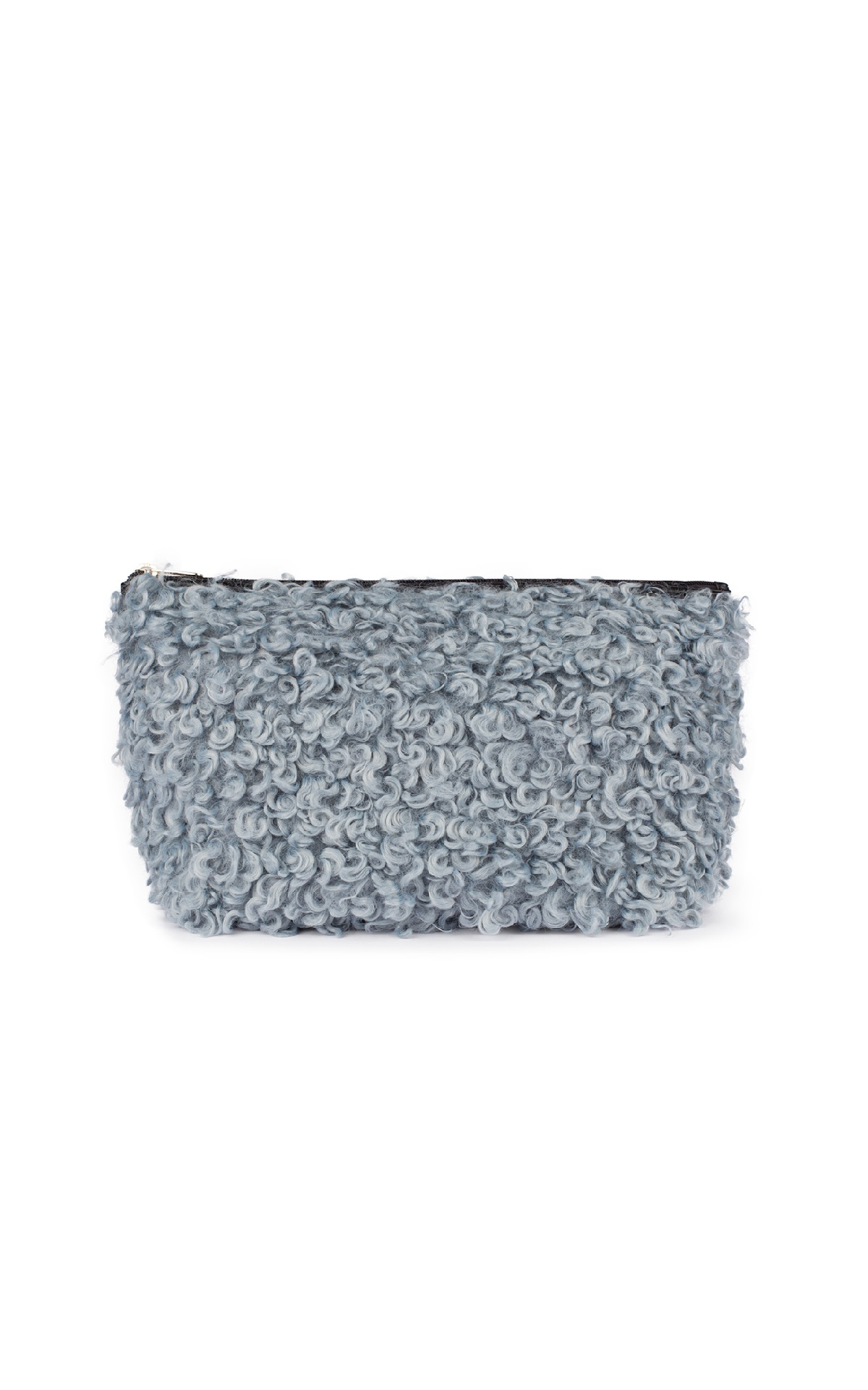 Blue shearling toiletry bag Tous