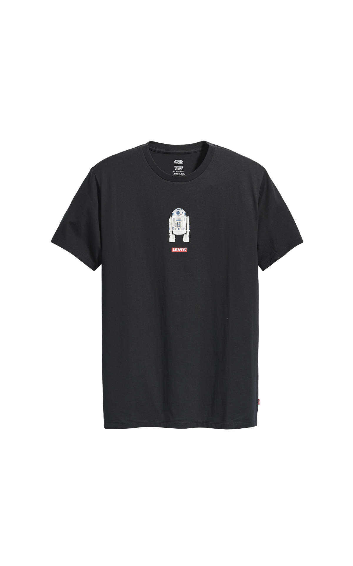 Black R2D2 T-shirt Star Wars Levi's