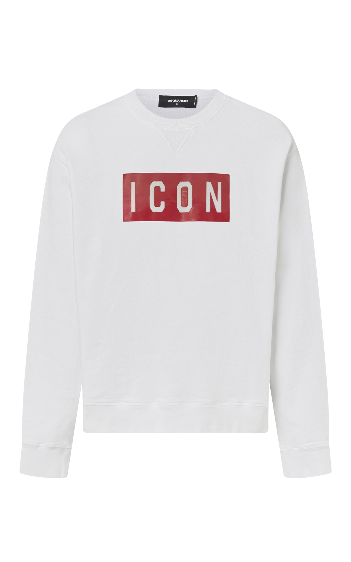 White sweatshirt ICON for man Dsquared2