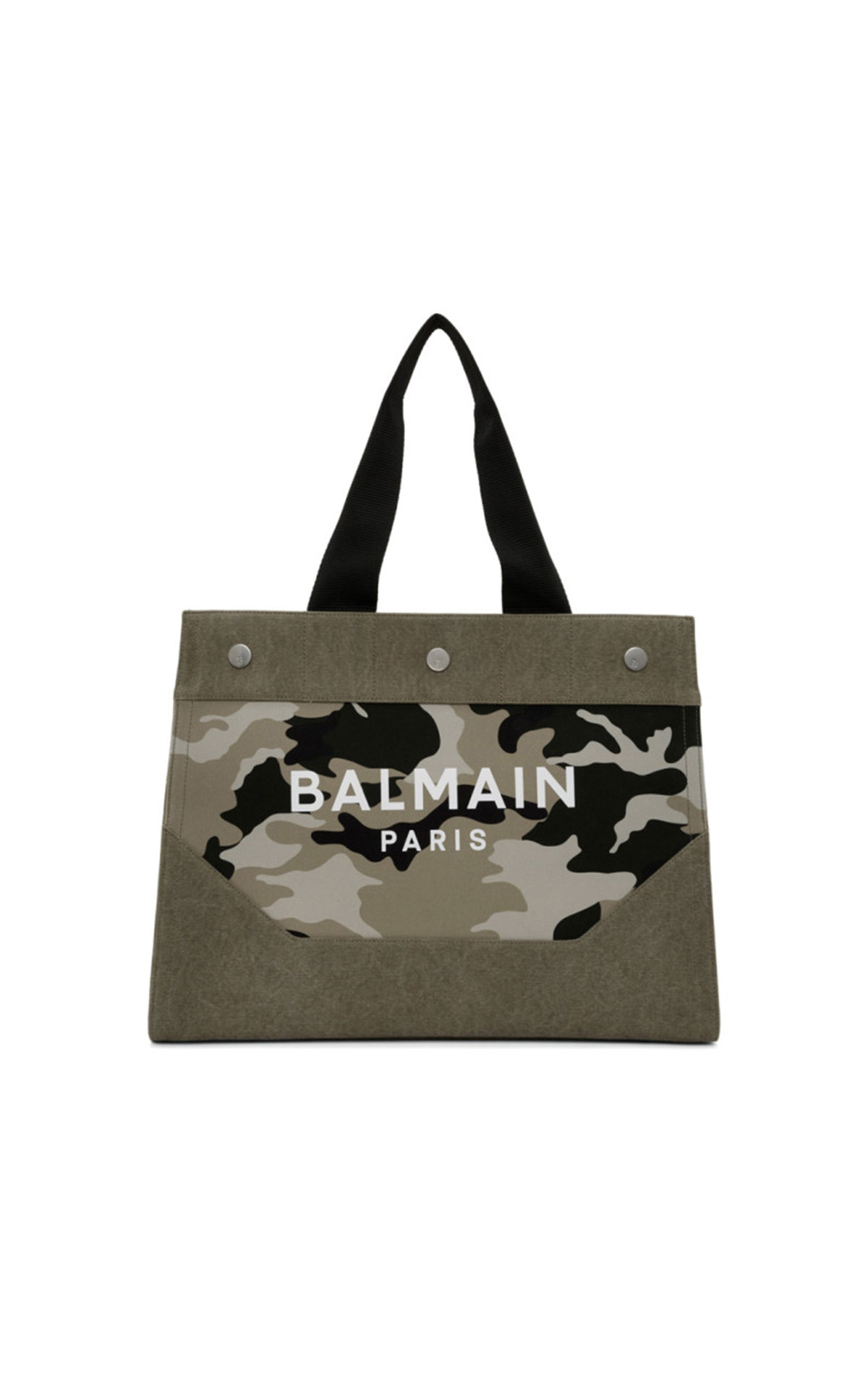 Balmain Camouflage-print logo tote bag  from Bicester Village
