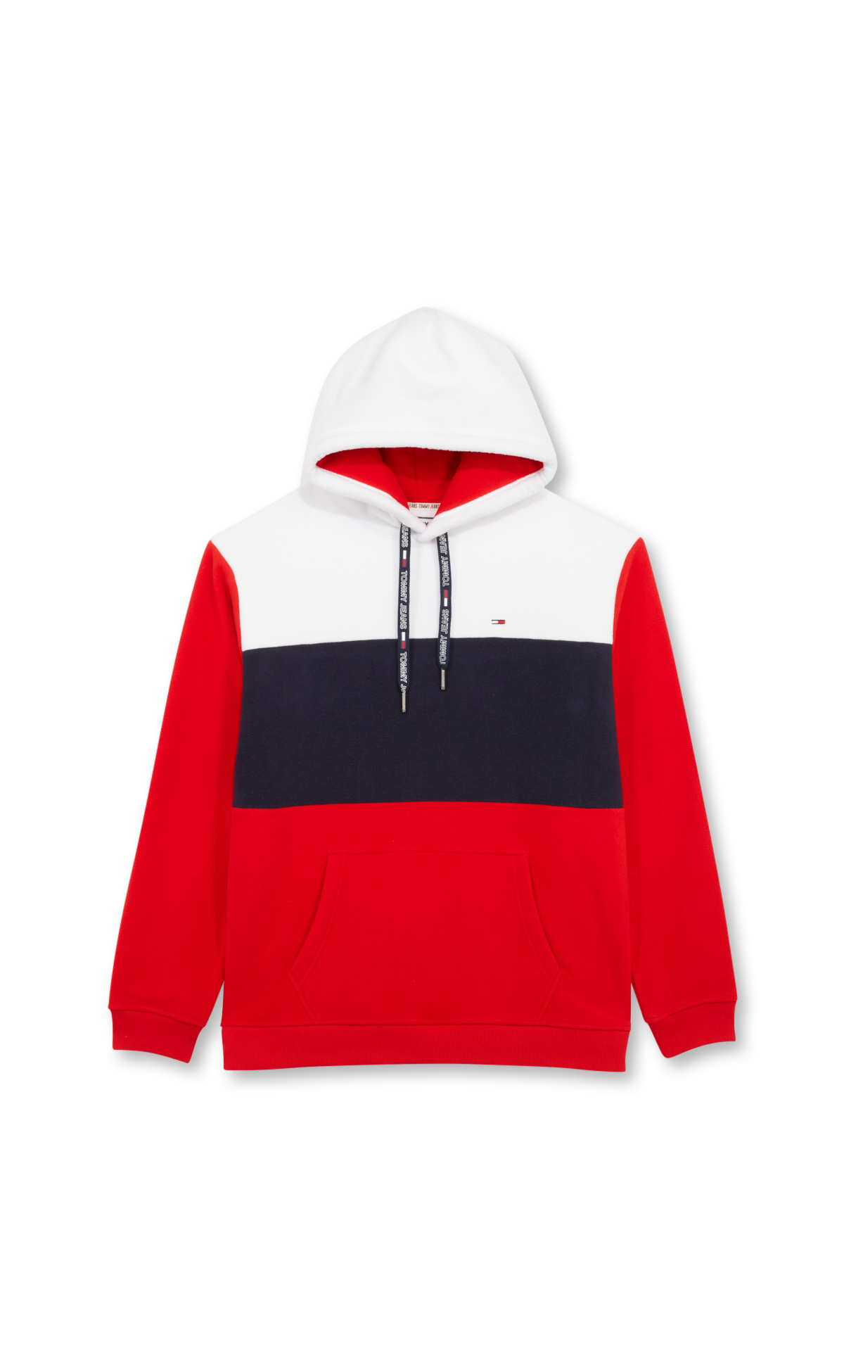 Tommy Hilfiger Tricolor fleece hoodie