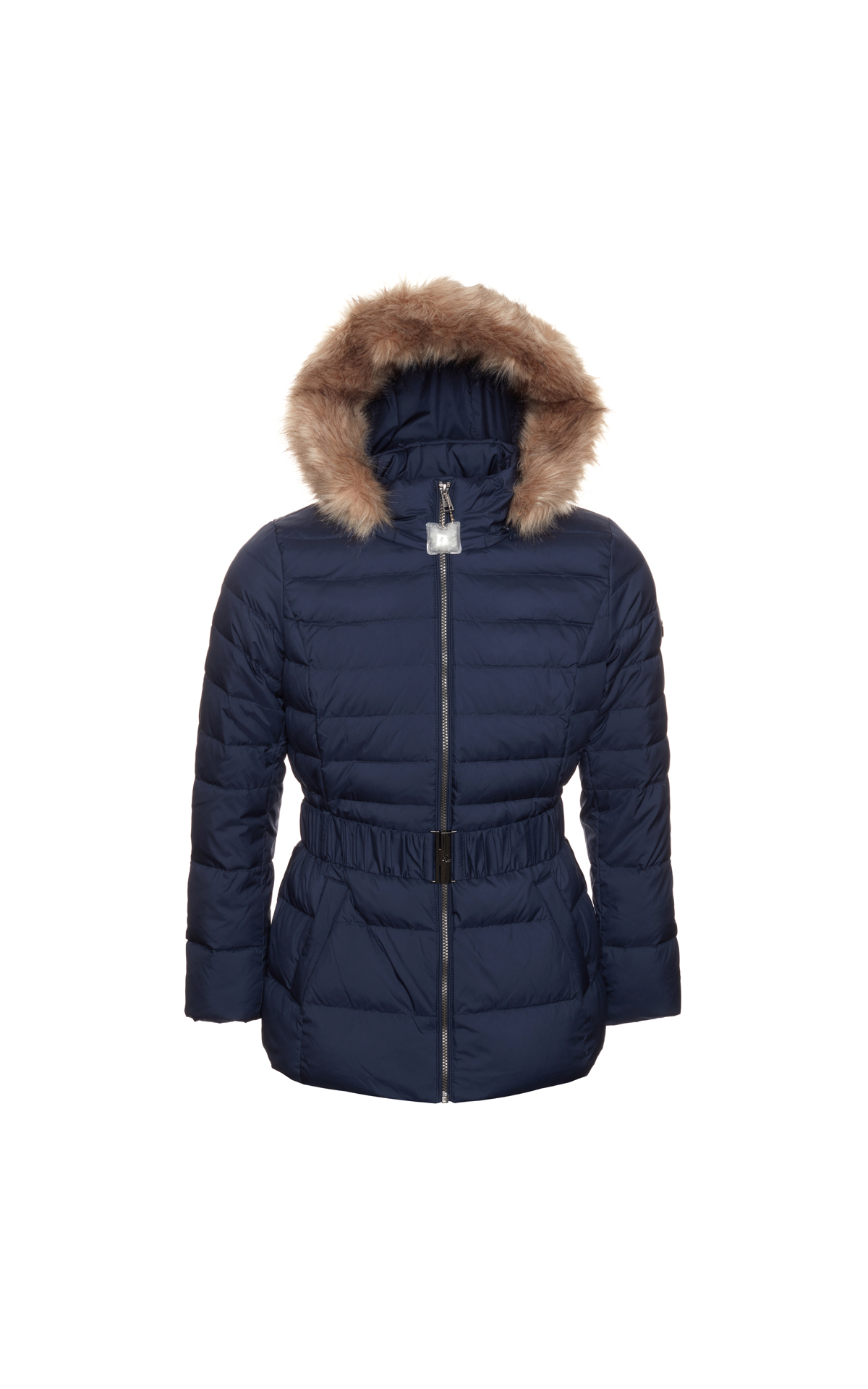 Polo Ralph Lauren Women's Belted Fur Puffa at The Bicester Village Shopping Collection