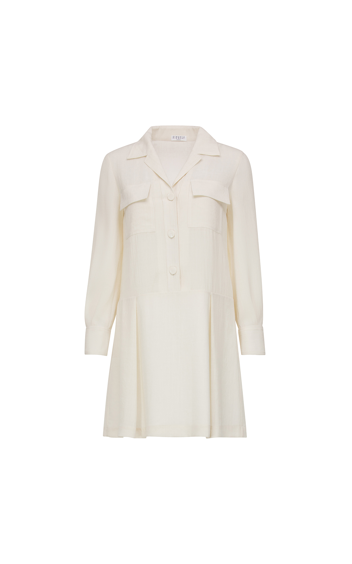 Claudie Pierlot Rable dress in Ivory at The Bicester Village Shopping Collection