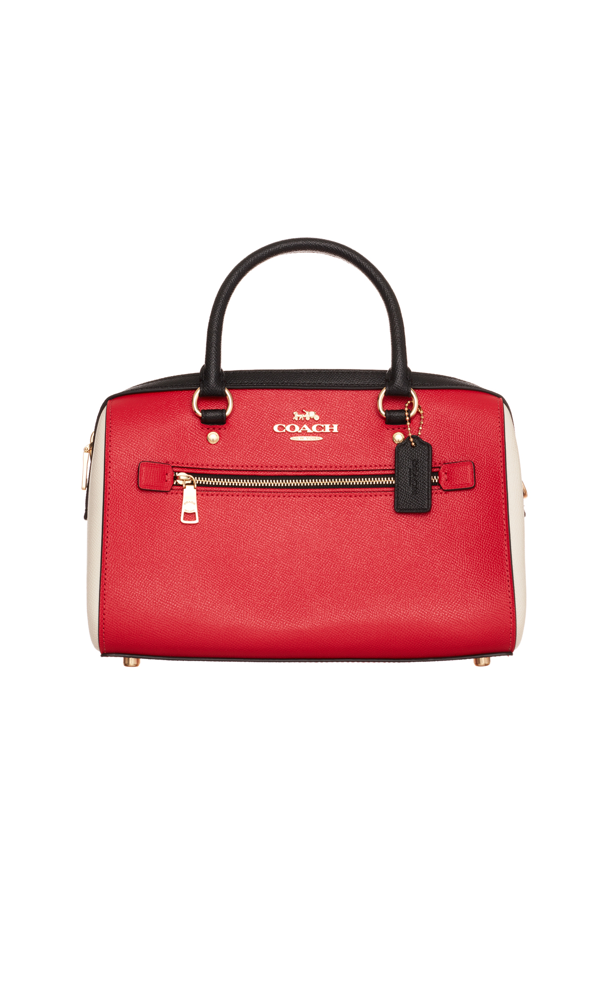 Coach Red rowan satchel from Bicester Village