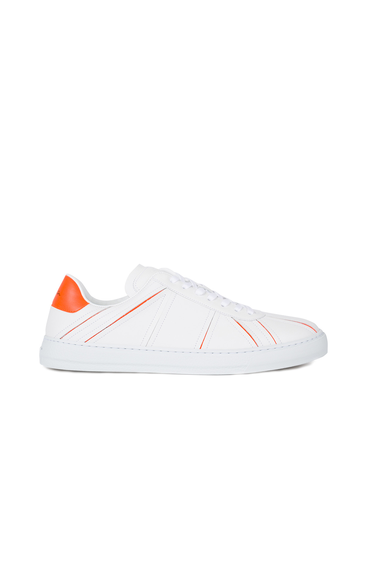 La Vallée Village Paul Smith Orange flag Levon sneakers