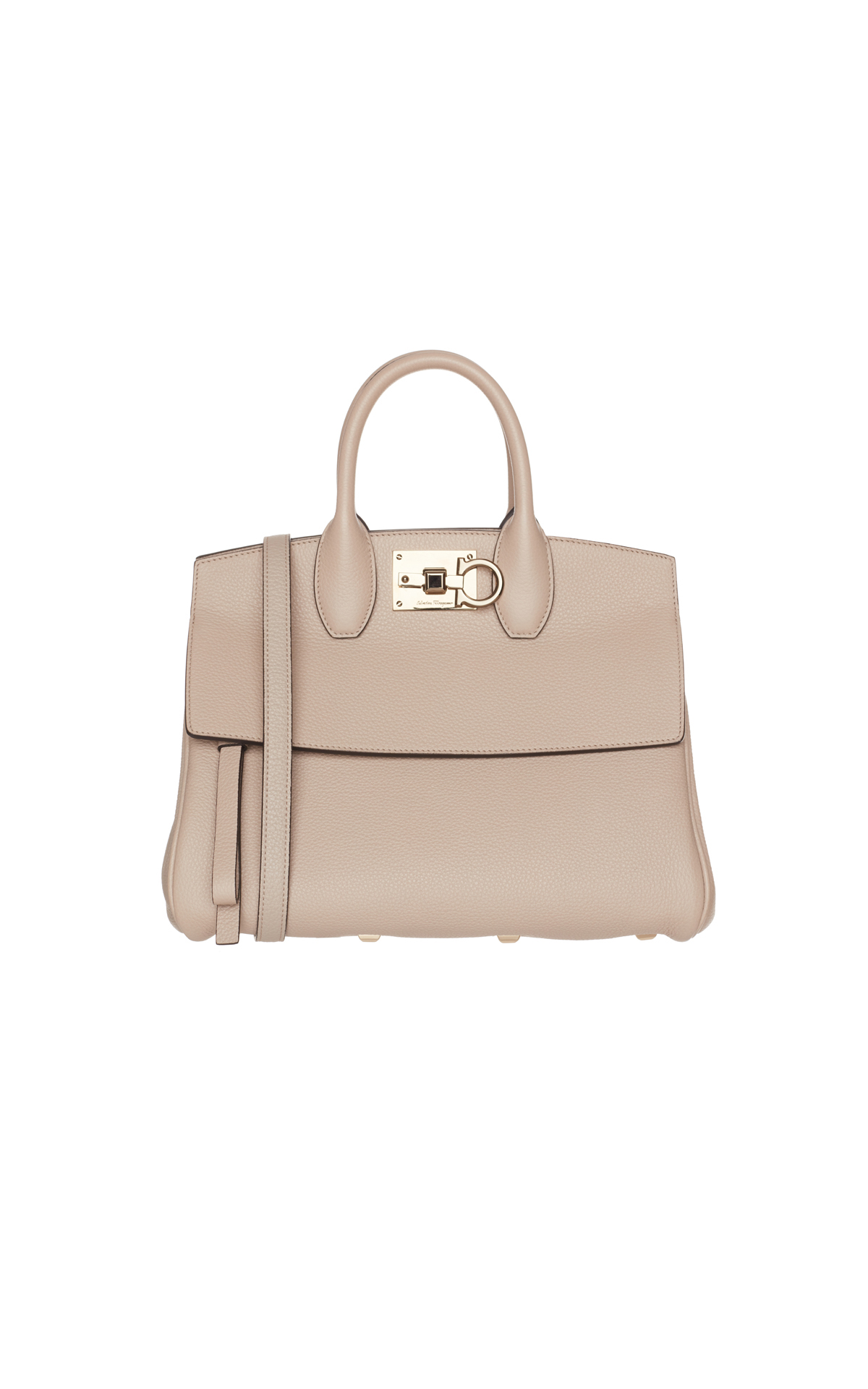 Salvatore Ferragamo White top handle bag from Bicester Village