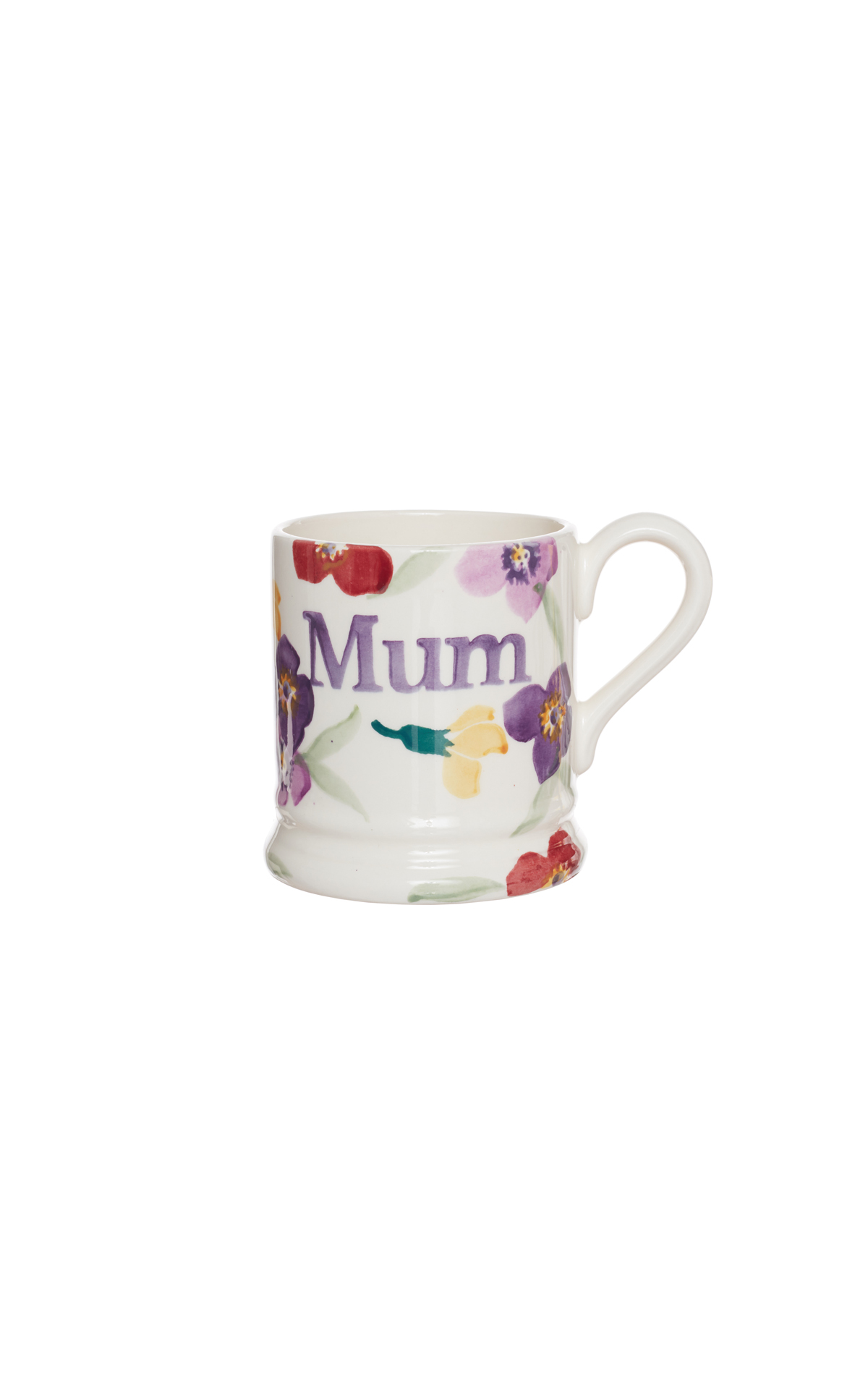 Emma Bridgewater Wallflower 'mum' half pint mug from Bicester Village