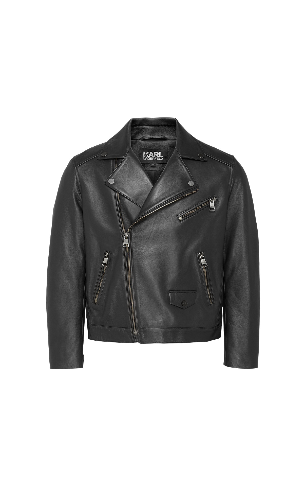 Karl Lagerfeld Modina leather jacket at The Bicester Village Shopping Collection