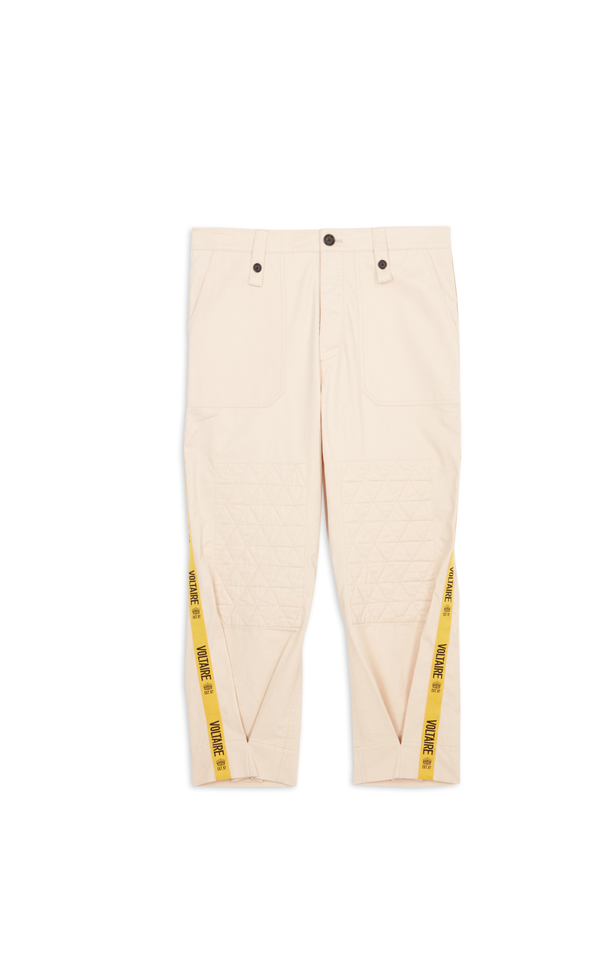 Zadig&Voltaire cream trousers la vallée village