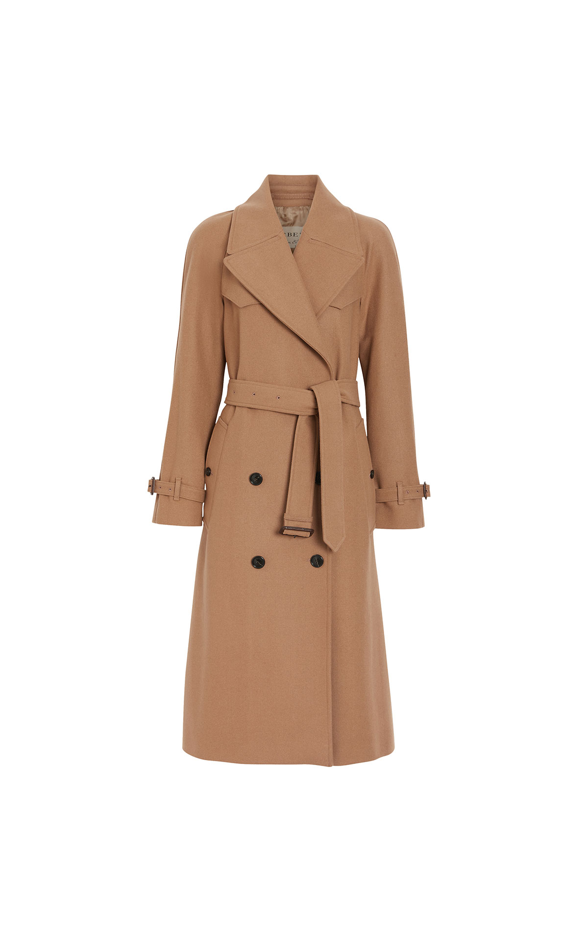 Burberry Cranston double breasted wool coat from Bicester Village