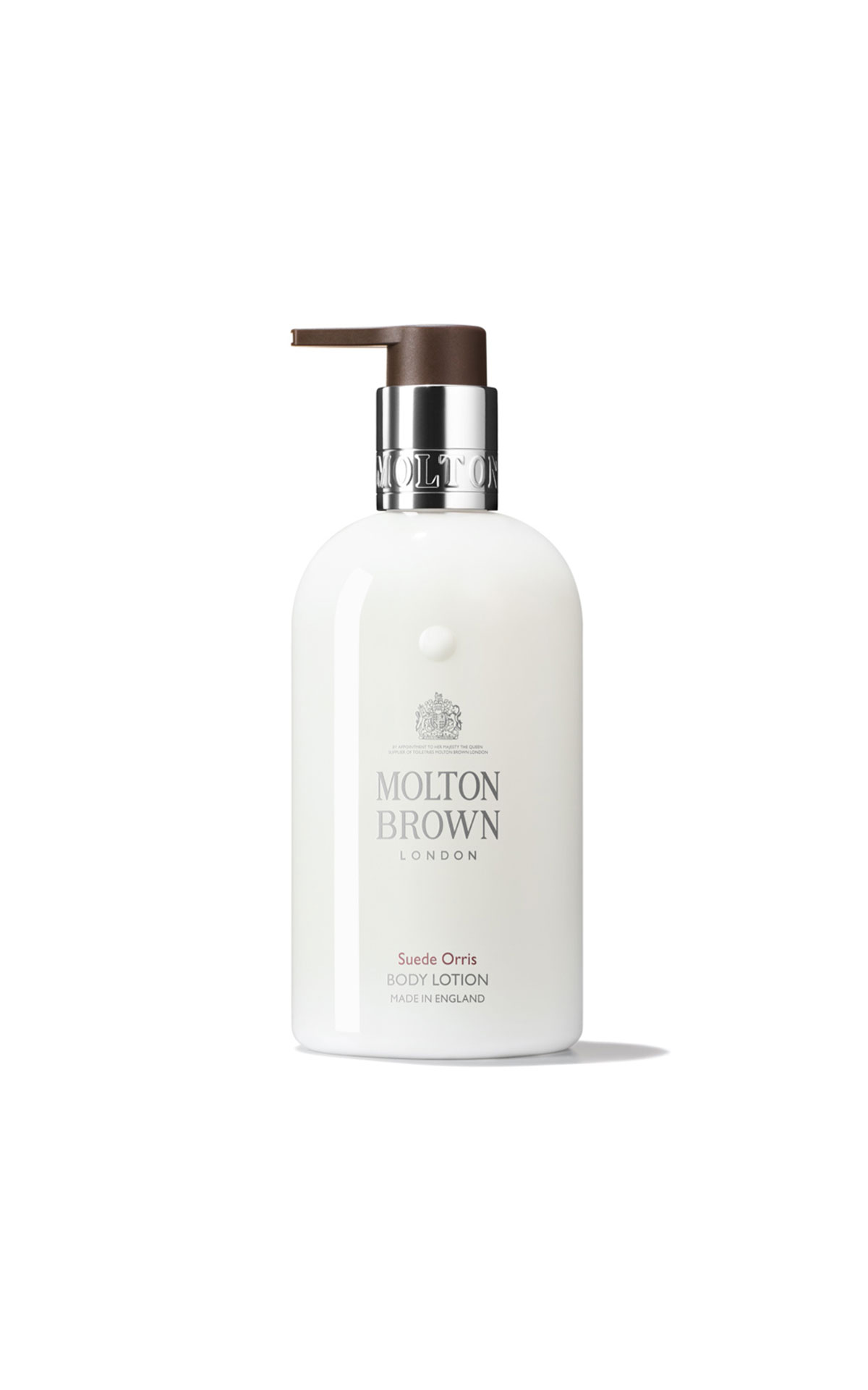 Molton Brown Suede orris body lotion from Bicester Village