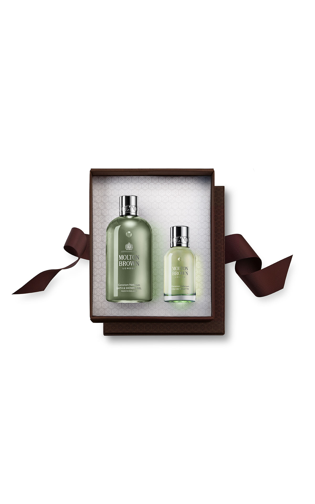 Molton Brown Geranium nefertum fragrance rituals gift set from Bicester Village