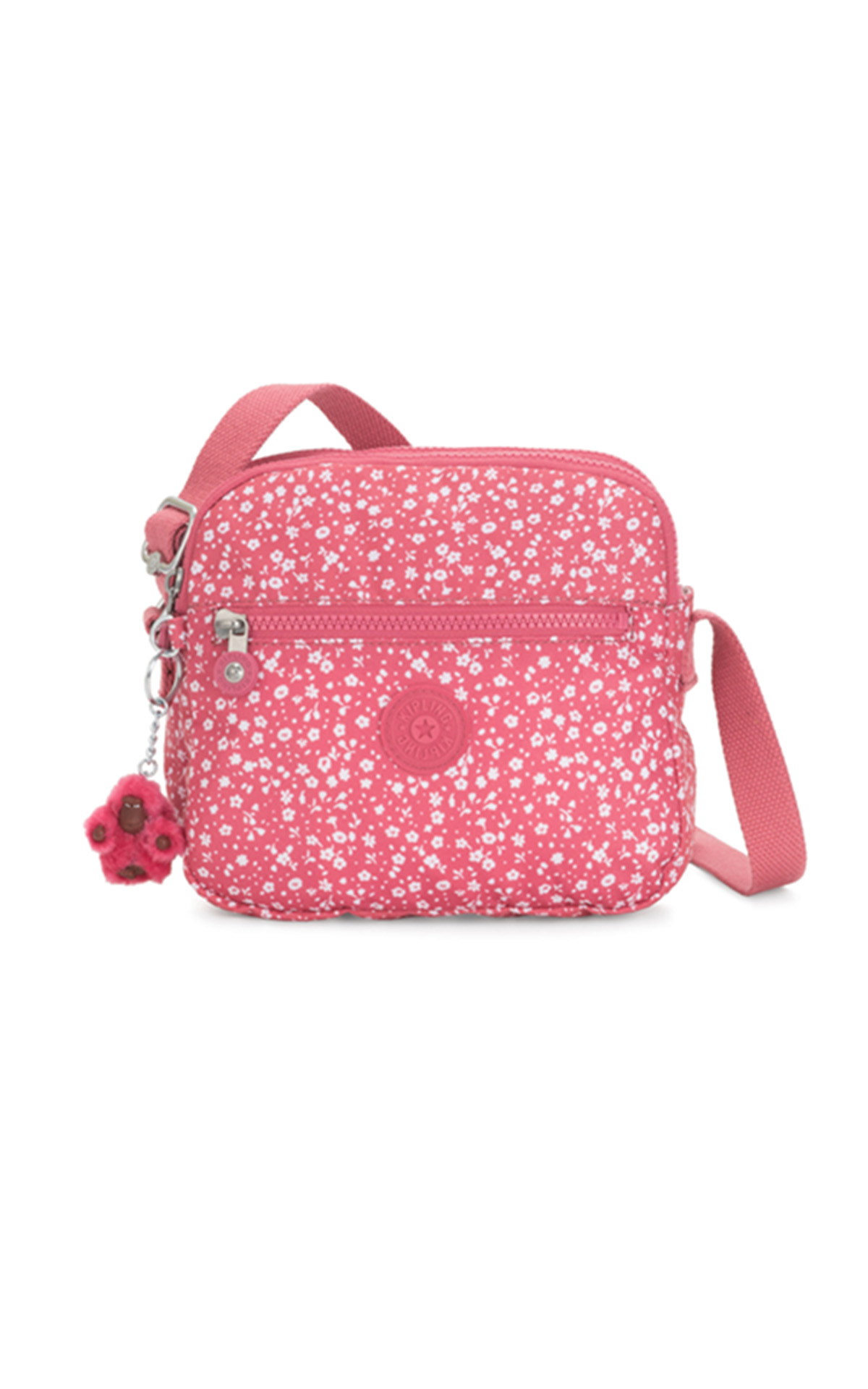Pink printed small bag Kipling