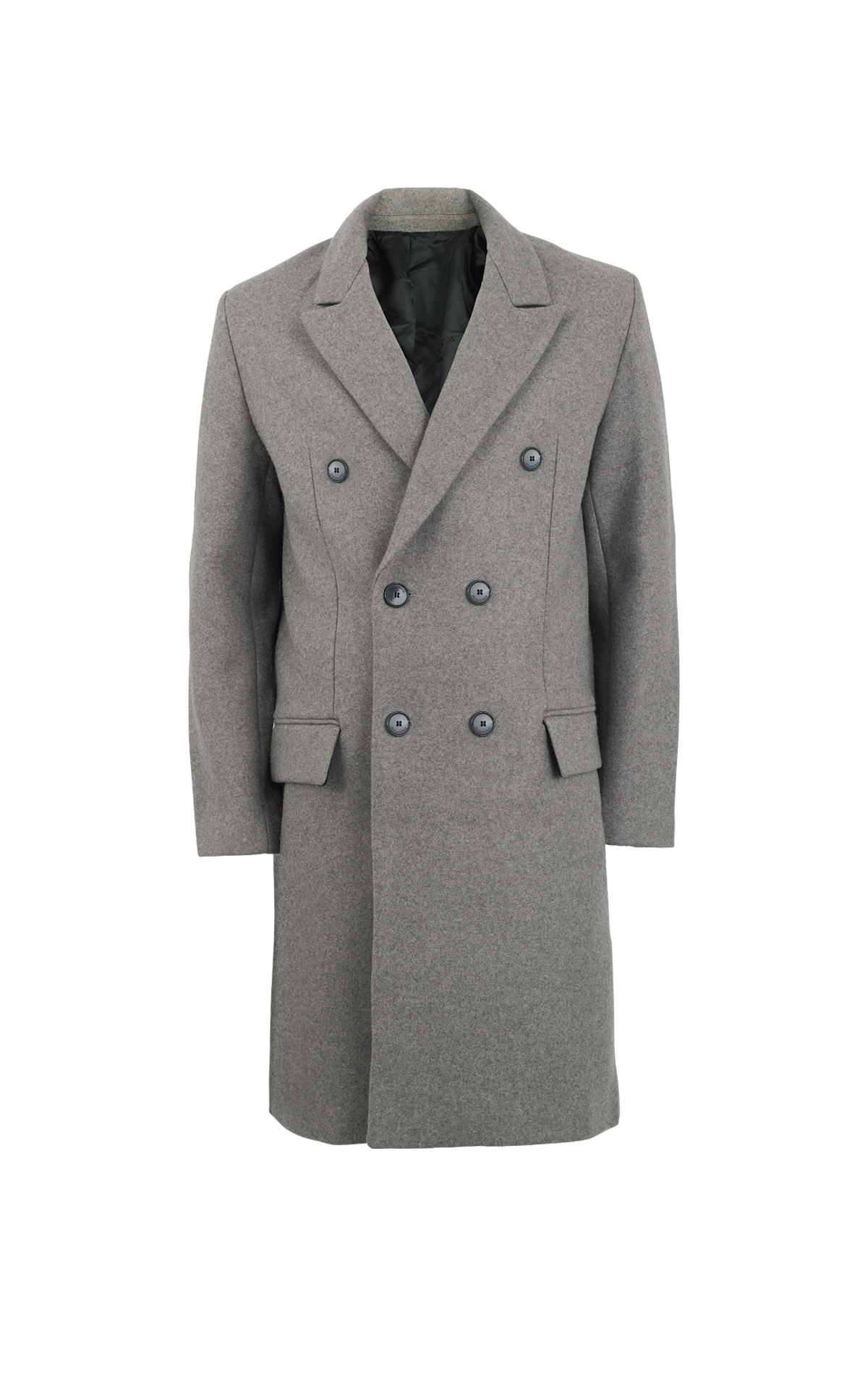 Grey coat Zadig&Voltaire