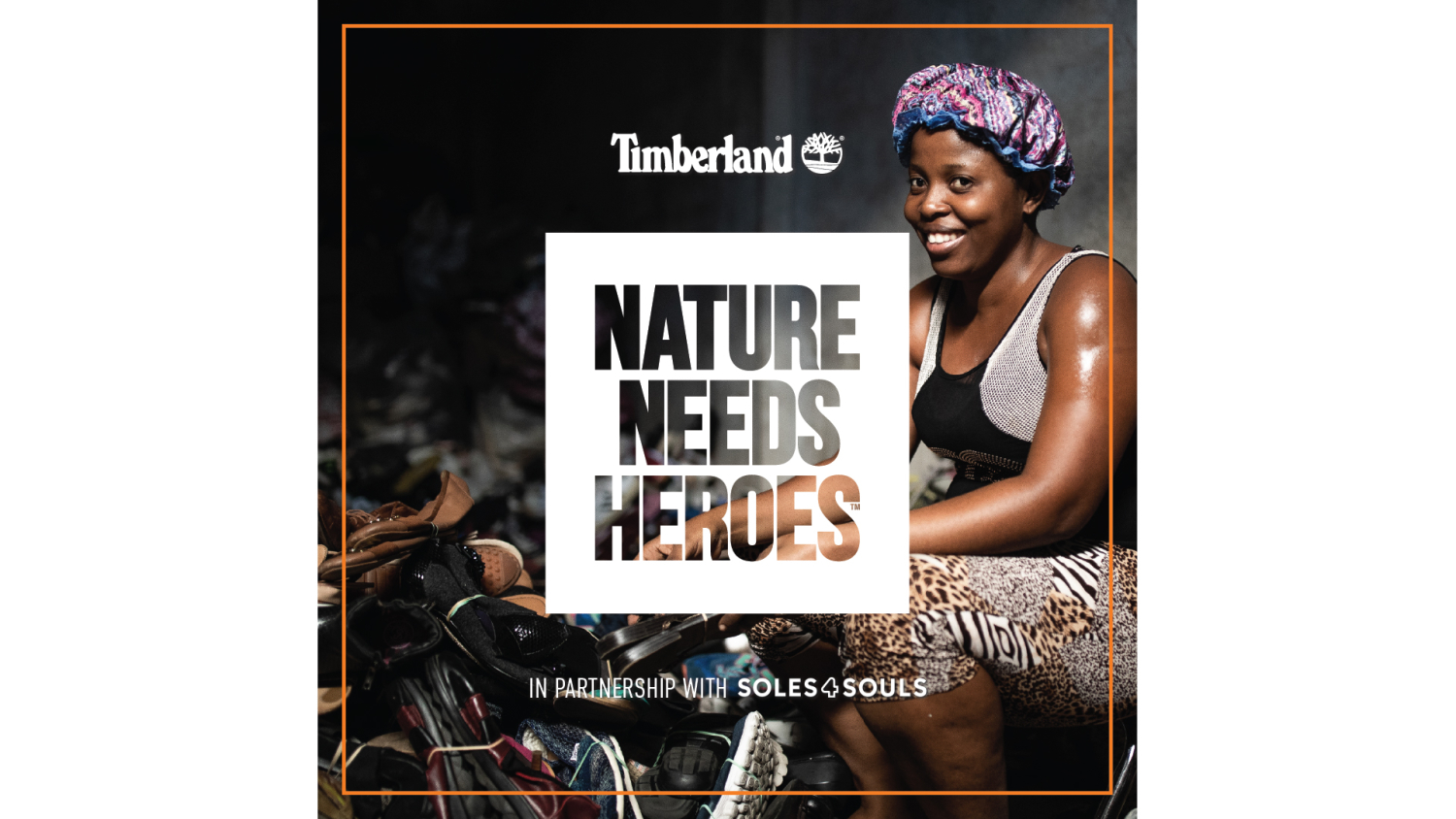 Timberland 'Nature need heroes'