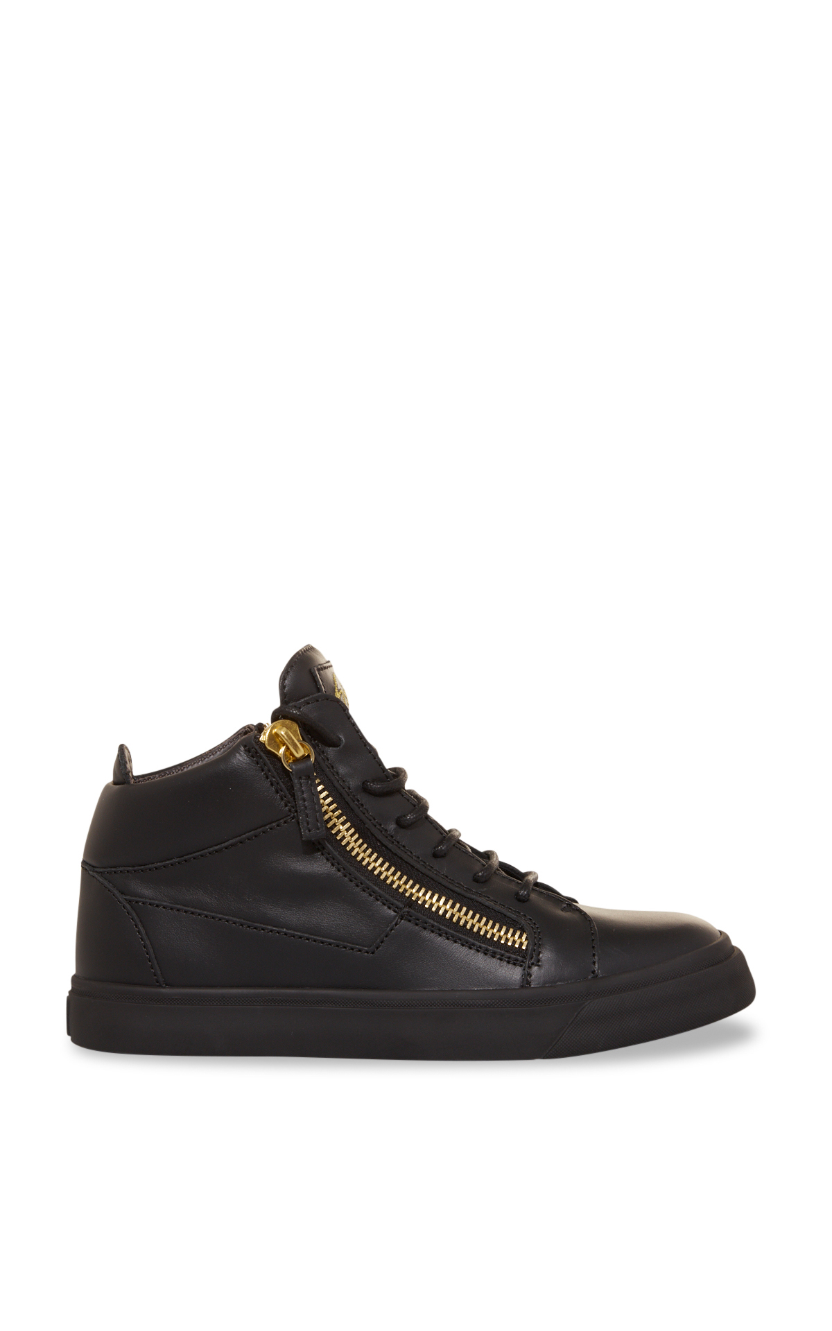 Guiseppe Zanotti Black high-top sneakers La Vallée Village