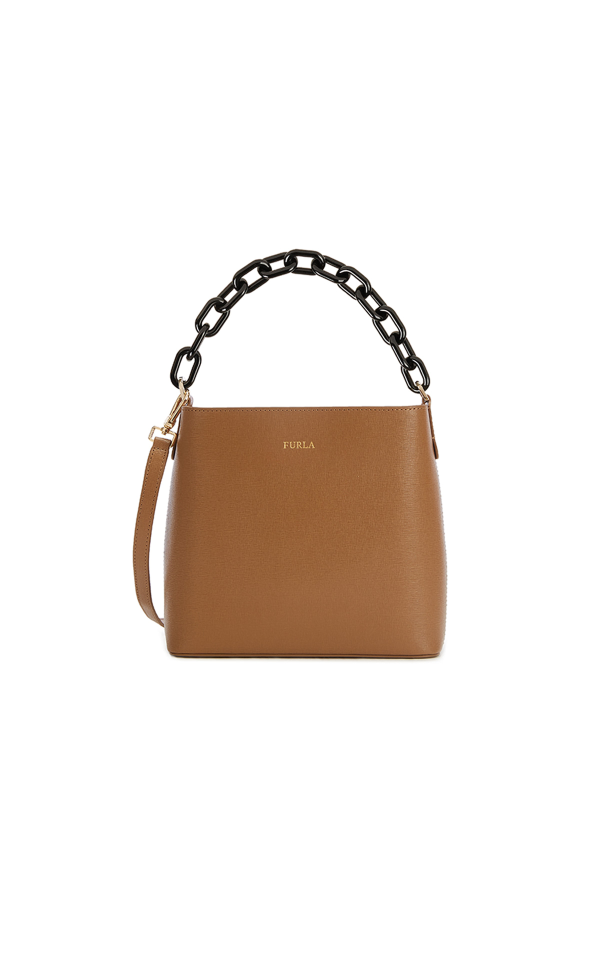 Furla Penny Small Bucket Bag with Chain at The Bicester Village Shopping Collection