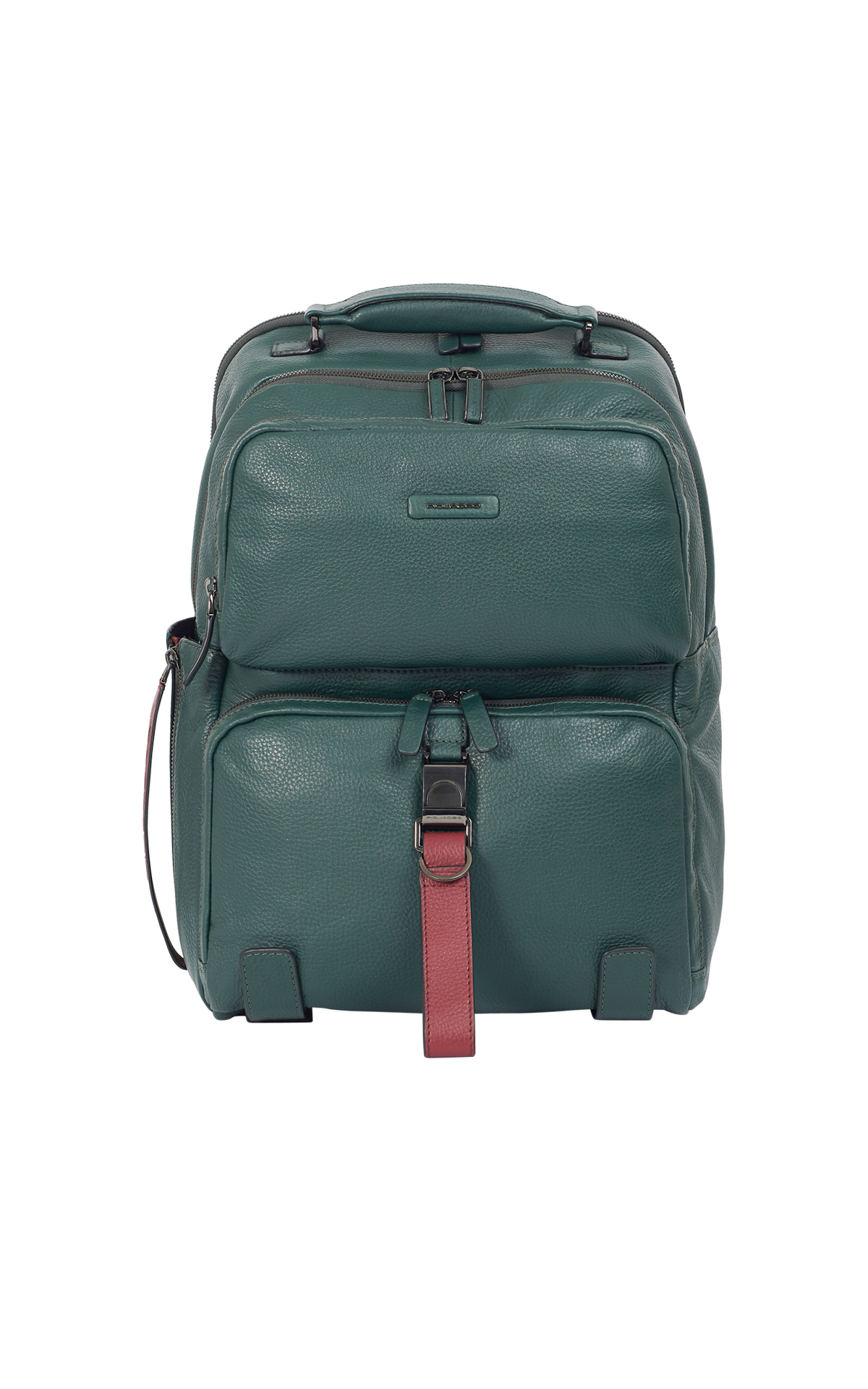 Green backpack Piquadro