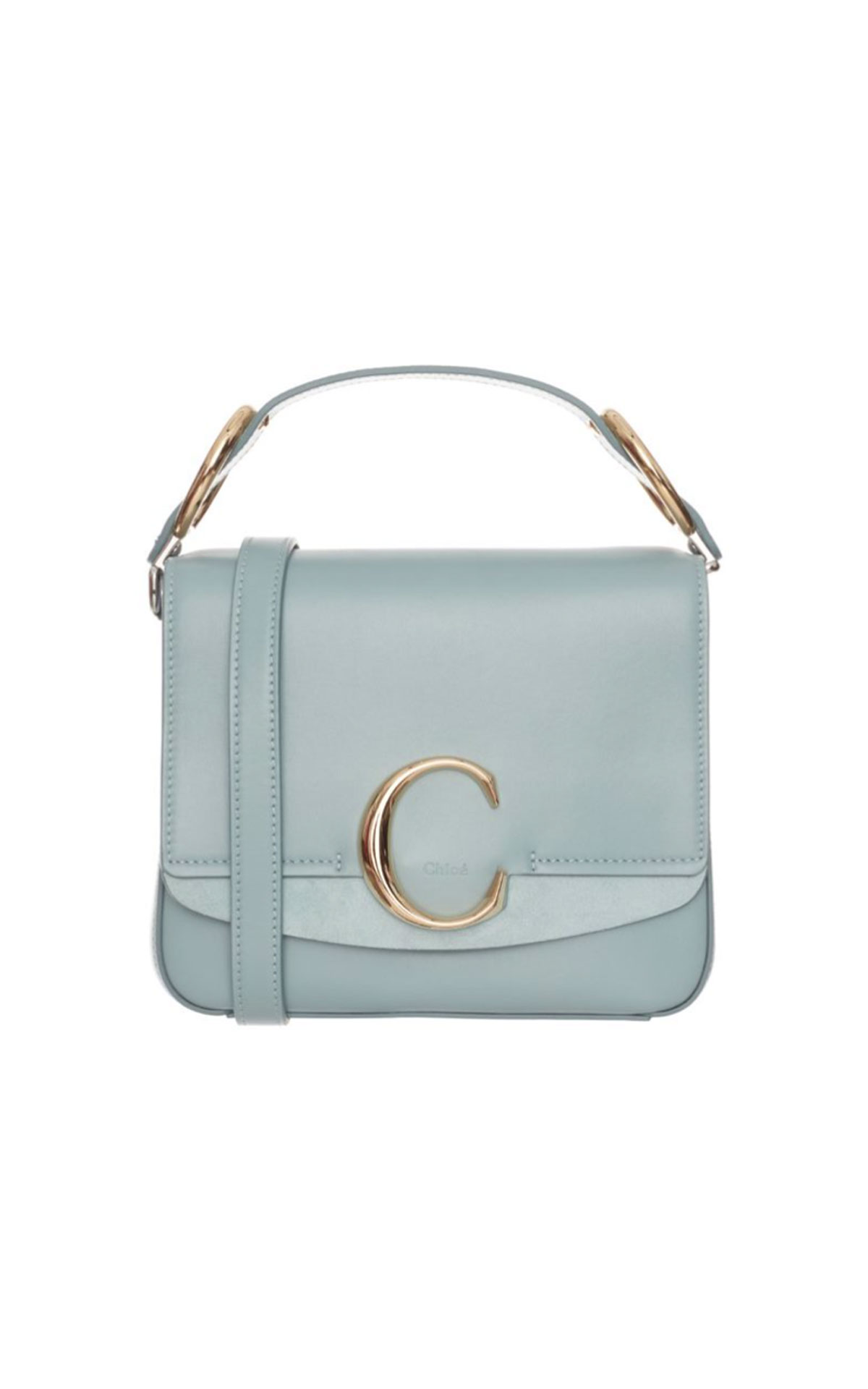 Chloe Small C square faded blue from Bicester Village