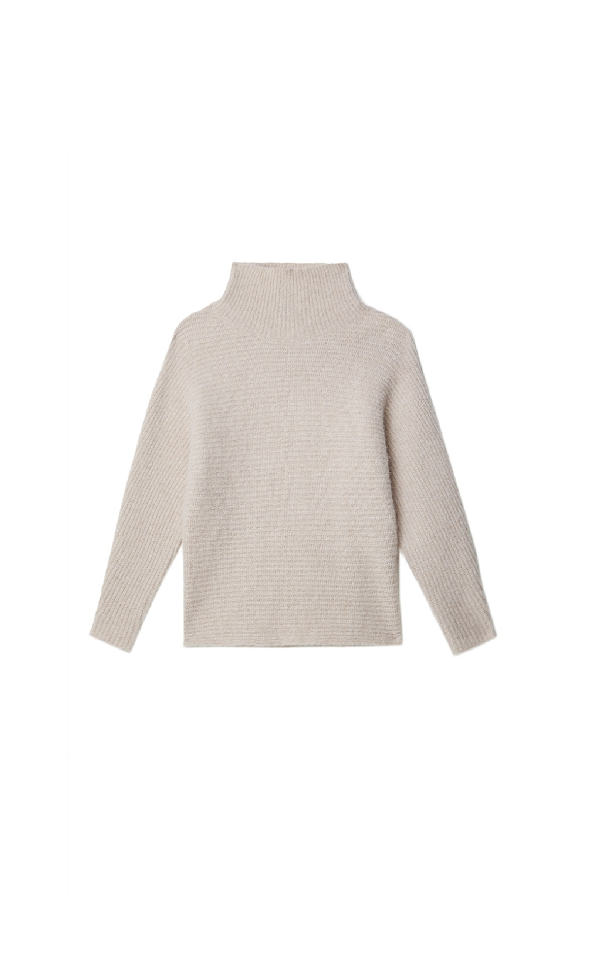 Beige turtle neck sweater Adolfo Dominguez
