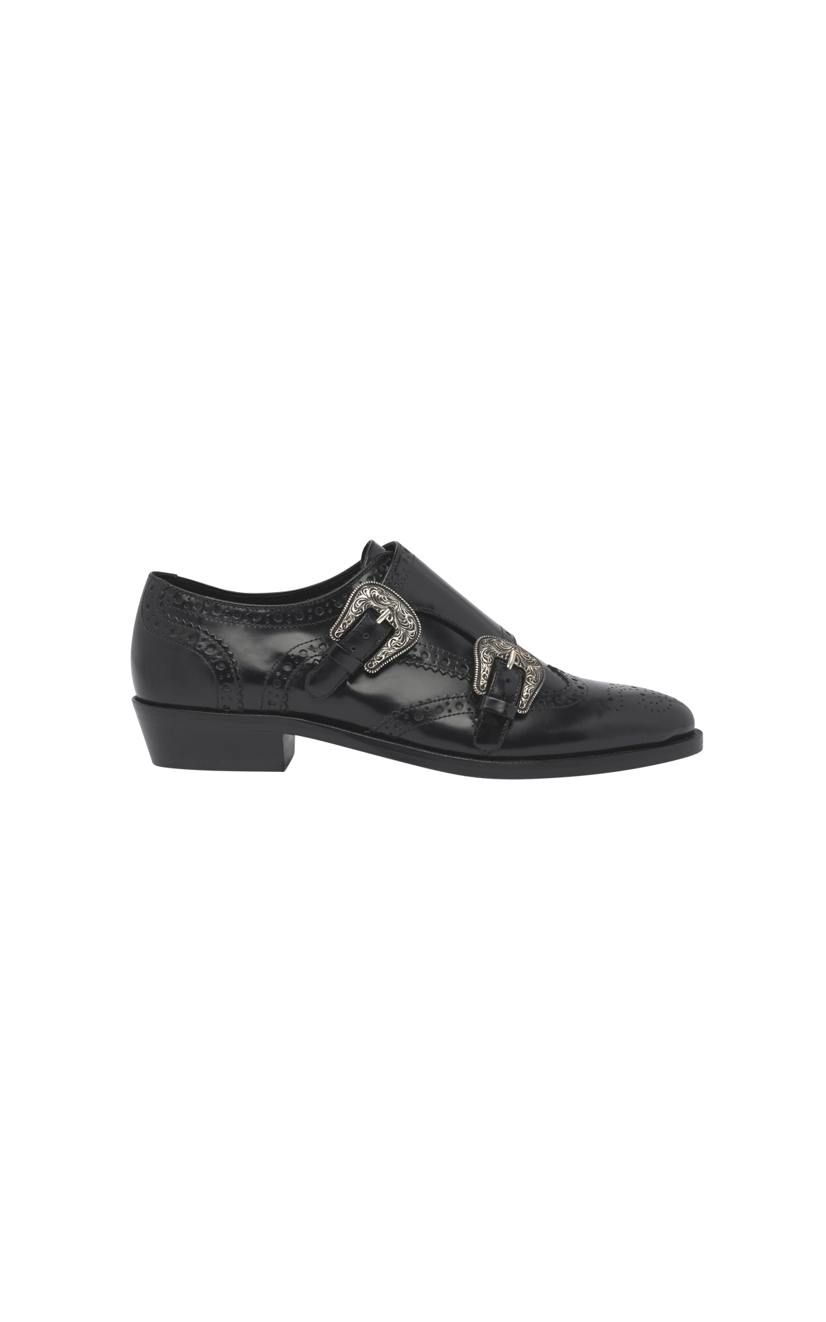 Zapato negro hebillas The Kooples
