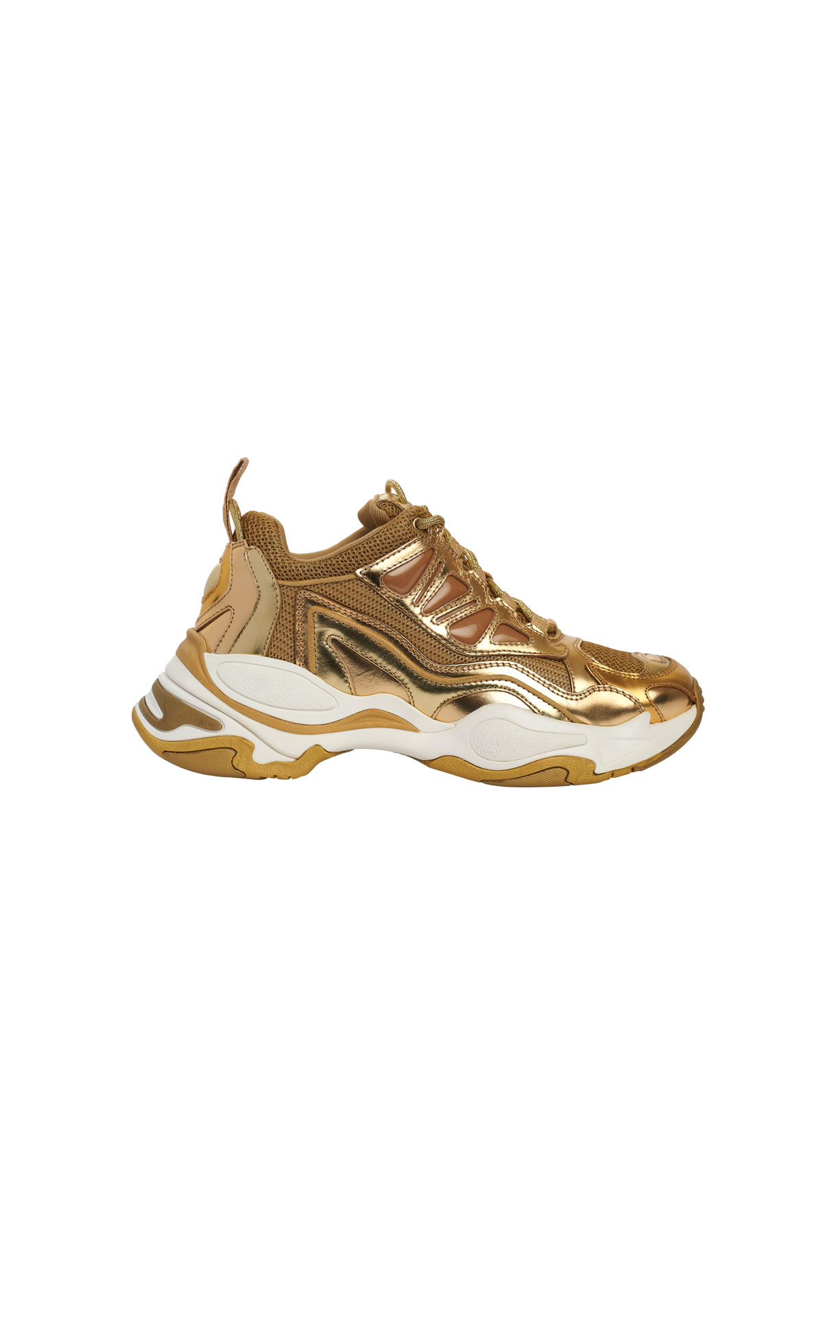 Gold sneakers Sandro