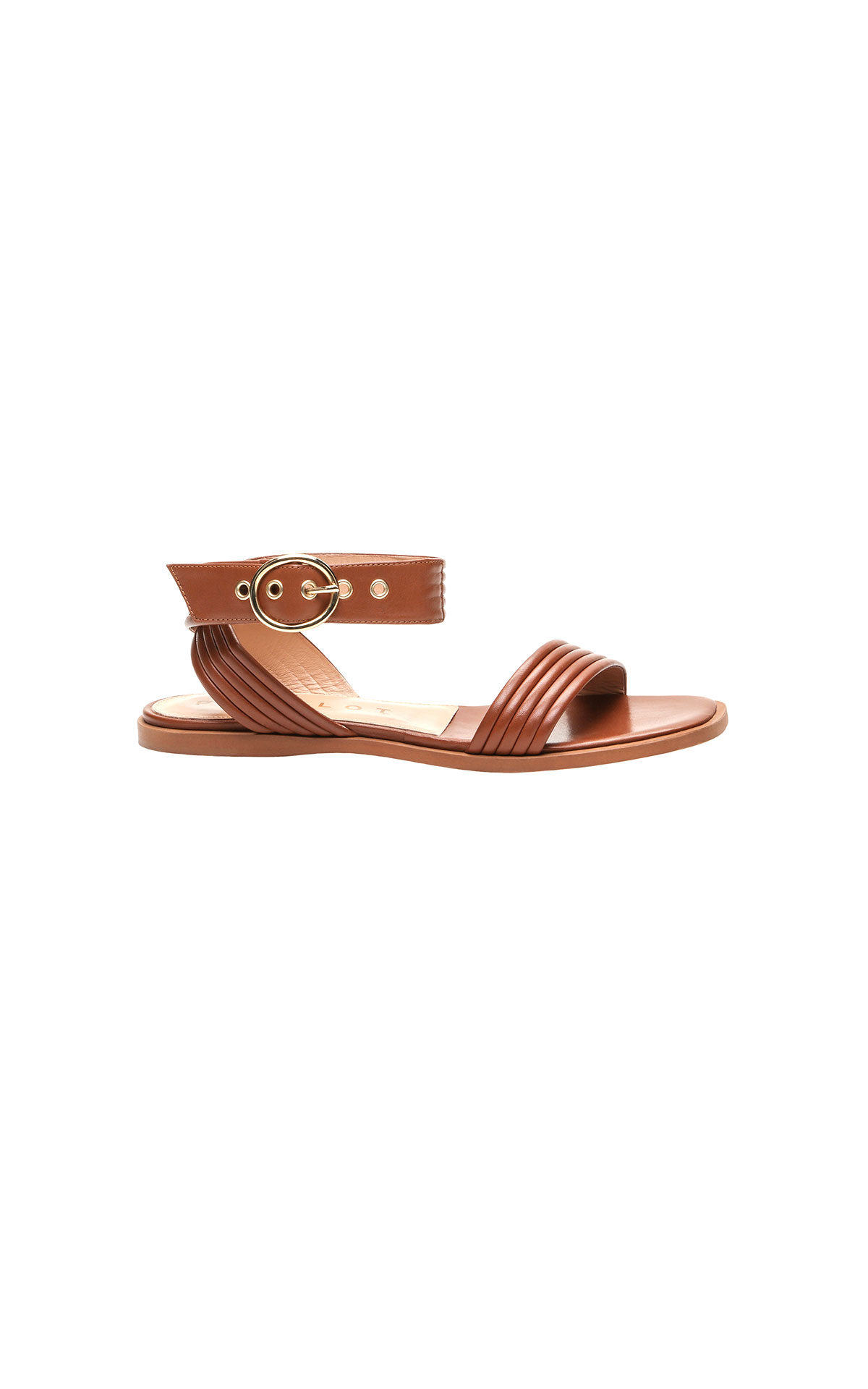 Claudie Pierlot Brown Sandal at The Bicester Village Shopping Collection