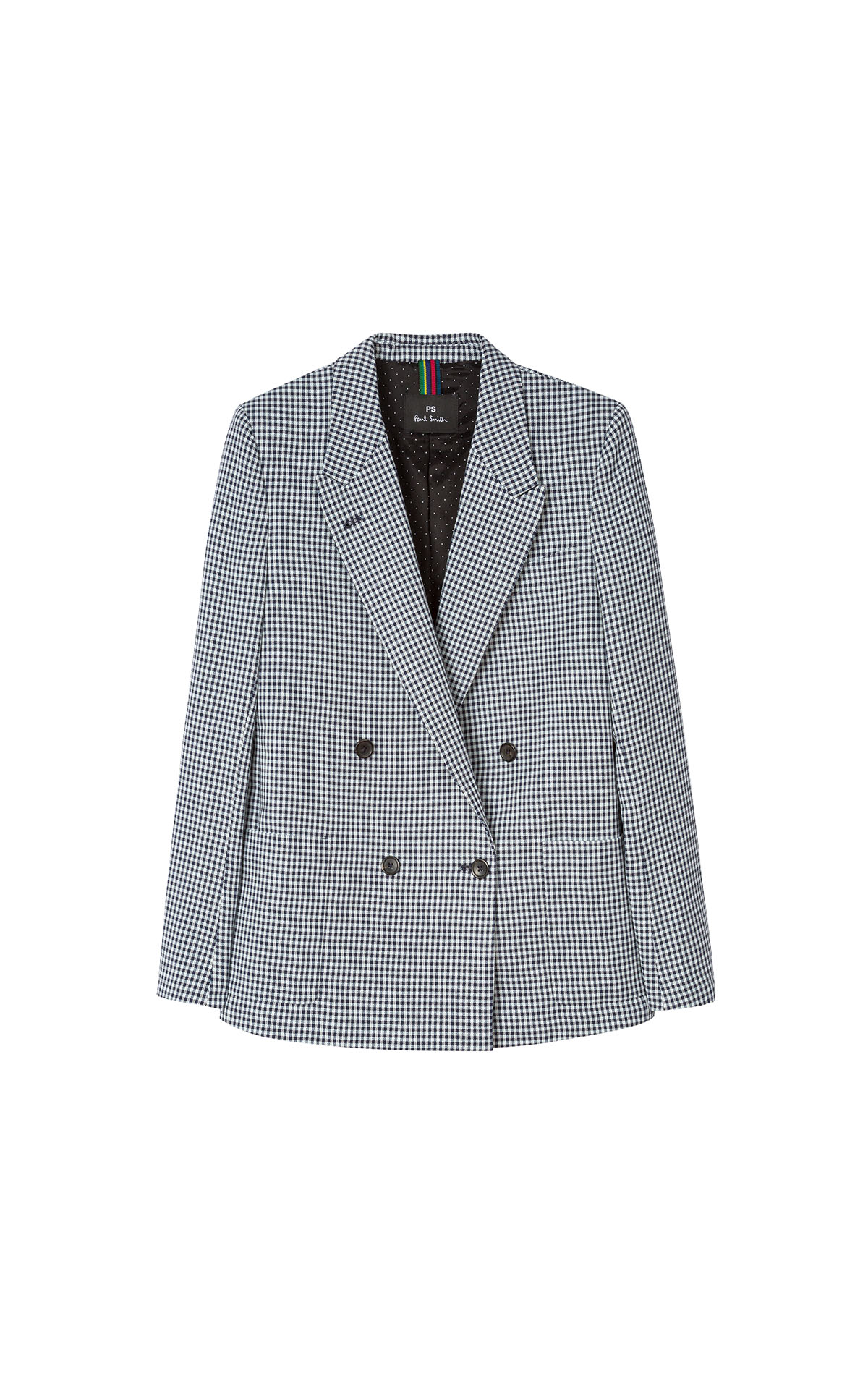 Paul Smith Women's Black Check Jacket at The Bicester Village Shopping Collection