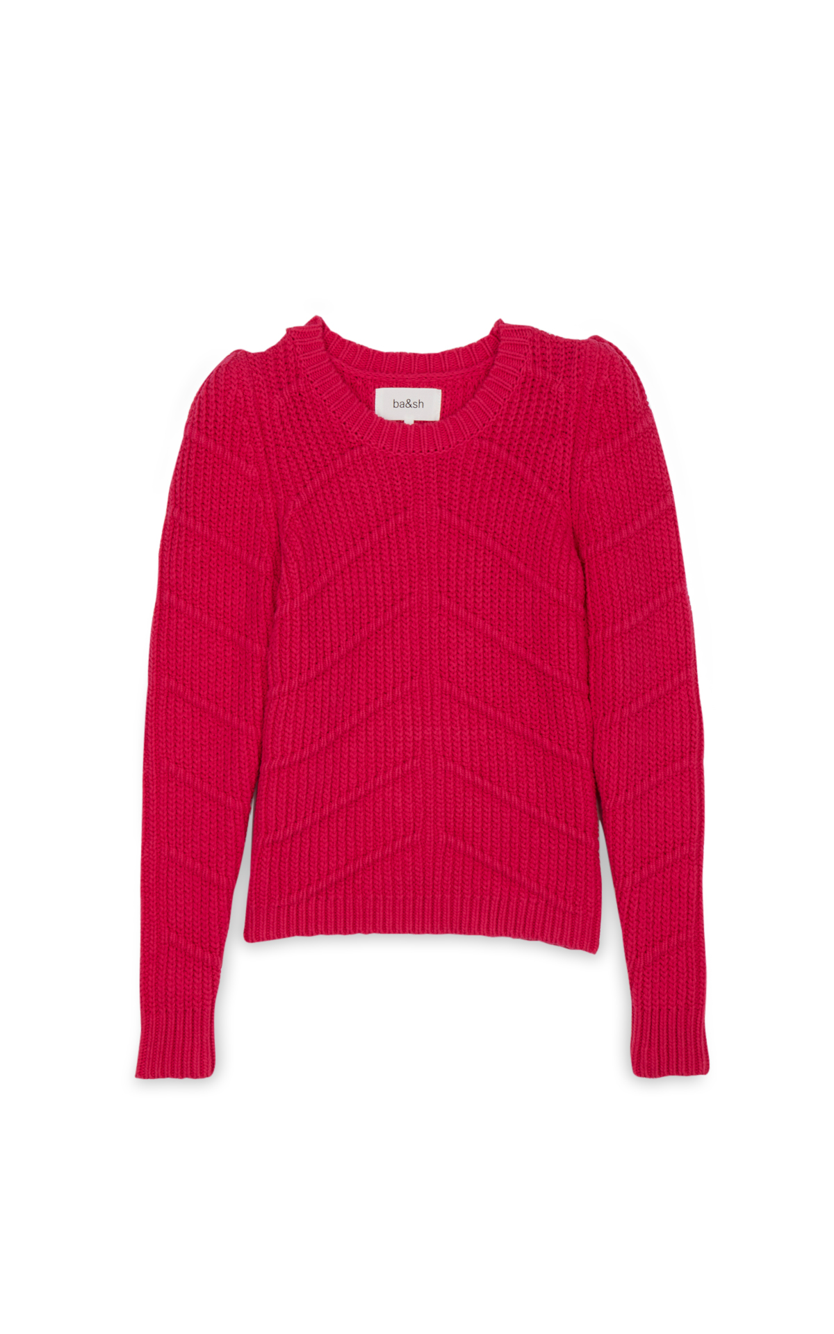 La Vallée Village ba&sh Fushia Dabnex jumper